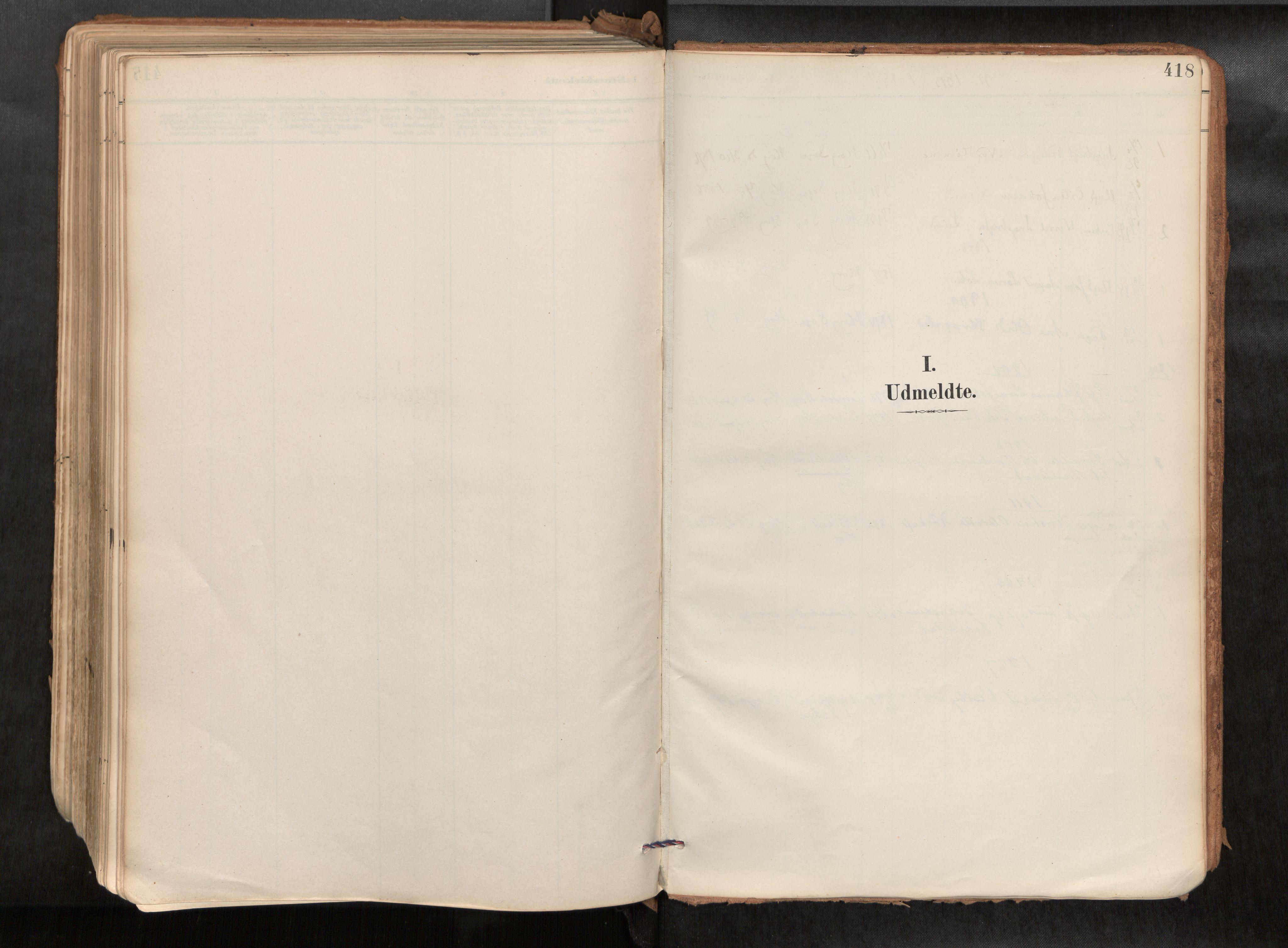 SAT, Ministerialprotokoller, klokkerbøker og fødselsregistre - Sør-Trøndelag, 692/L1105b: Ministerialbok nr. 692A06, 1891-1934, s. 418