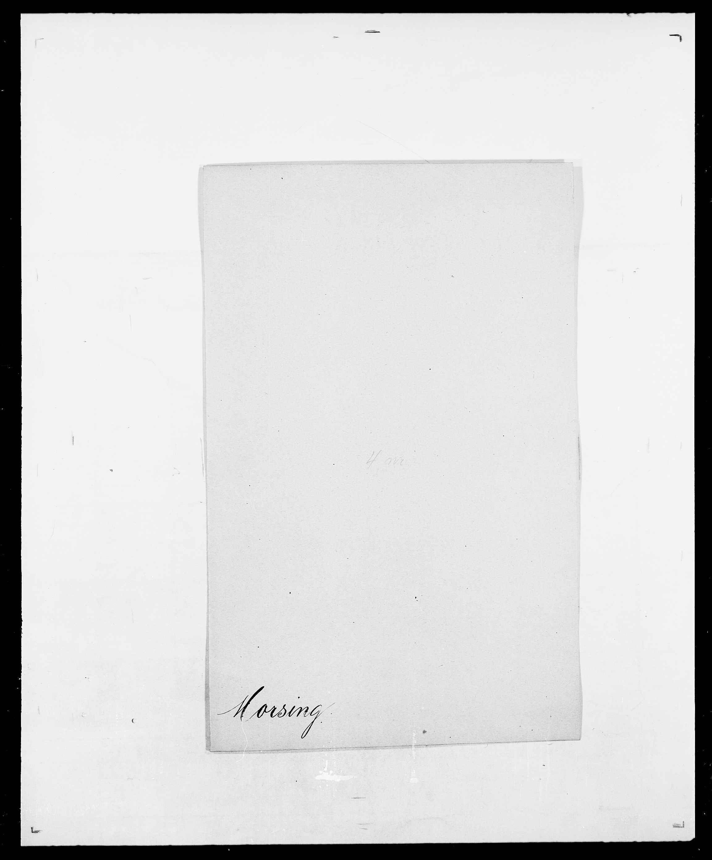 SAO, Delgobe, Charles Antoine - samling, D/Da/L0027: Morath - v. Møsting, s. 18