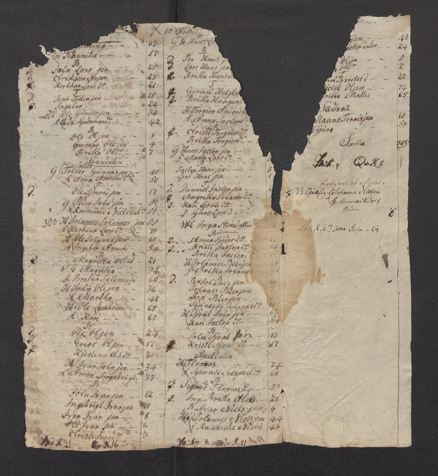 SAB, Folketelling 1815 for 1226P Strandebarm prestegjeld, 1815, s. 6