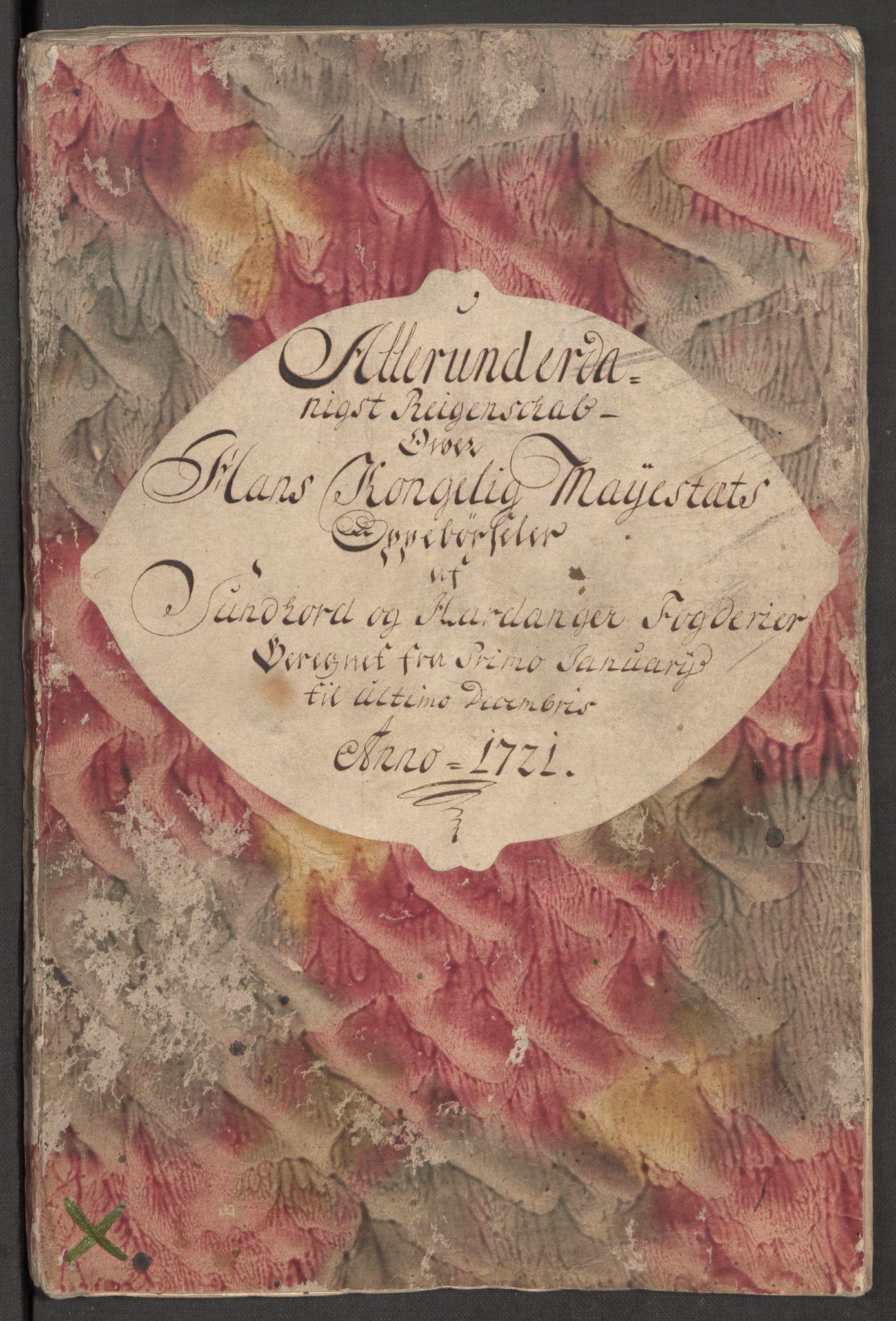 RA, Rentekammeret inntil 1814, Reviderte regnskaper, Fogderegnskap, R48/L3000: Fogderegnskap Sunnhordland og Hardanger, 1721, s. 4