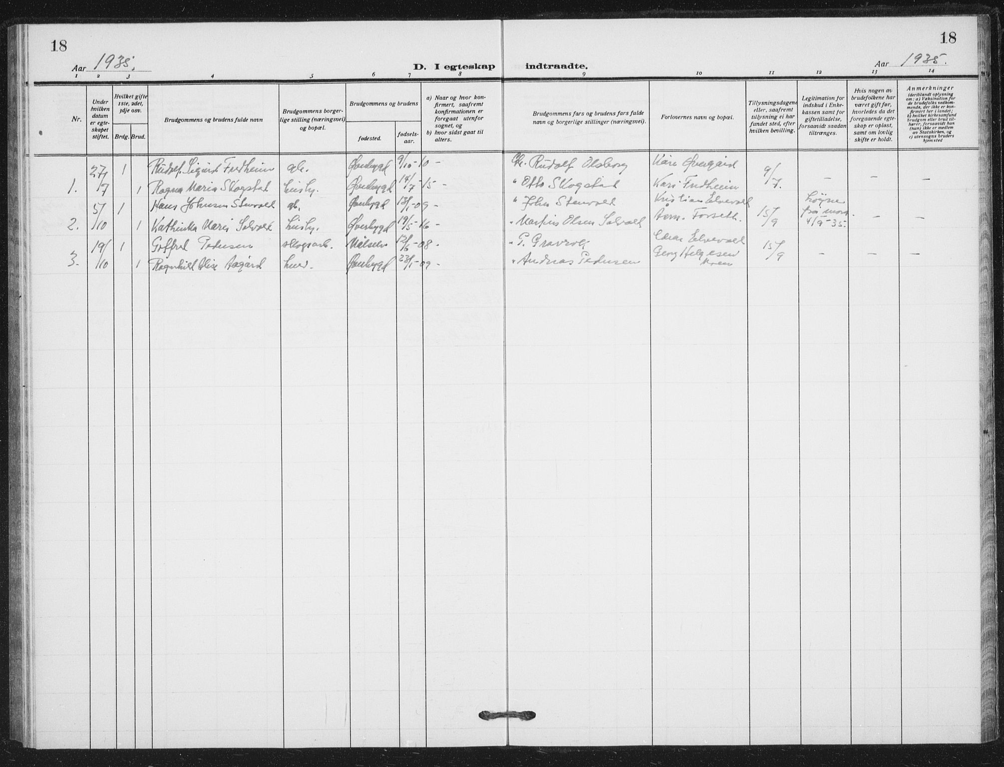 SATØ, Målselv sokneprestembete, G/Ga/Gab/L0012klokker: Klokkerbok nr. 12, 1900-1936, s. 18