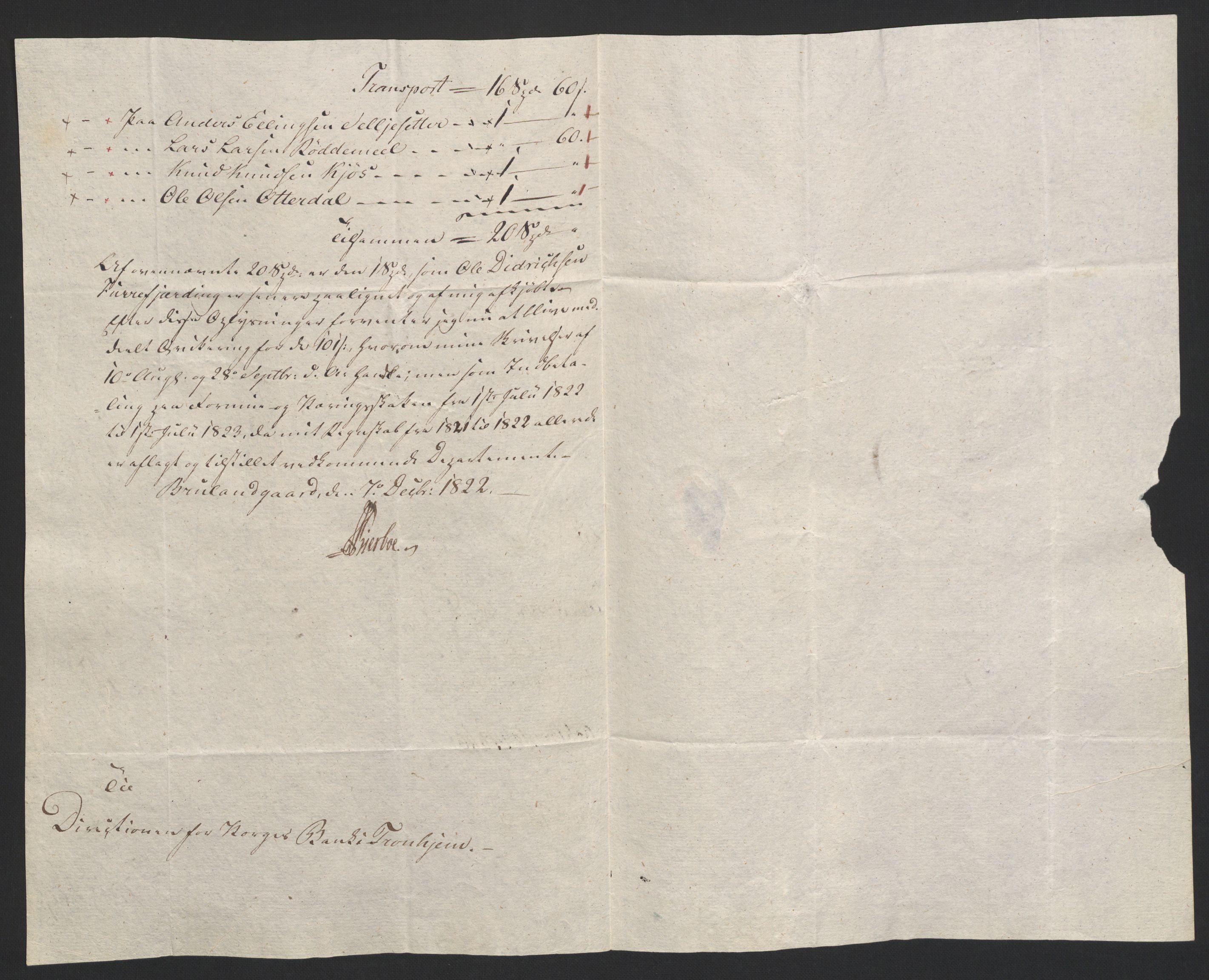 NOBA, Norges Bank/Sølvskatten 1816*, 1816-1828, s. 35