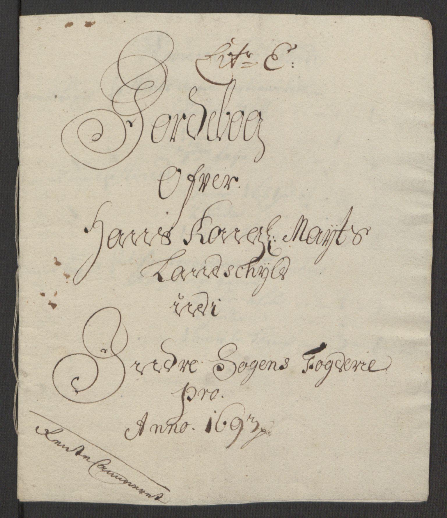 RA, Rentekammeret inntil 1814, Reviderte regnskaper, Fogderegnskap, R52/L3307: Fogderegnskap Sogn, 1693-1694, s. 121