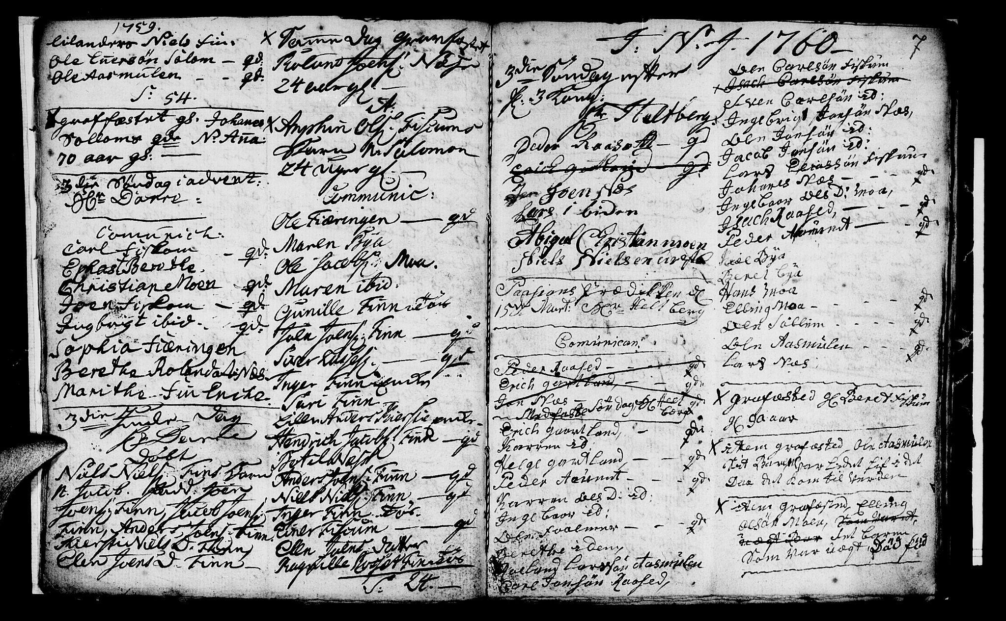 SAT, Ministerialprotokoller, klokkerbøker og fødselsregistre - Nord-Trøndelag, 759/L0526: Ministerialbok nr. 759A02, 1758-1765, s. 7