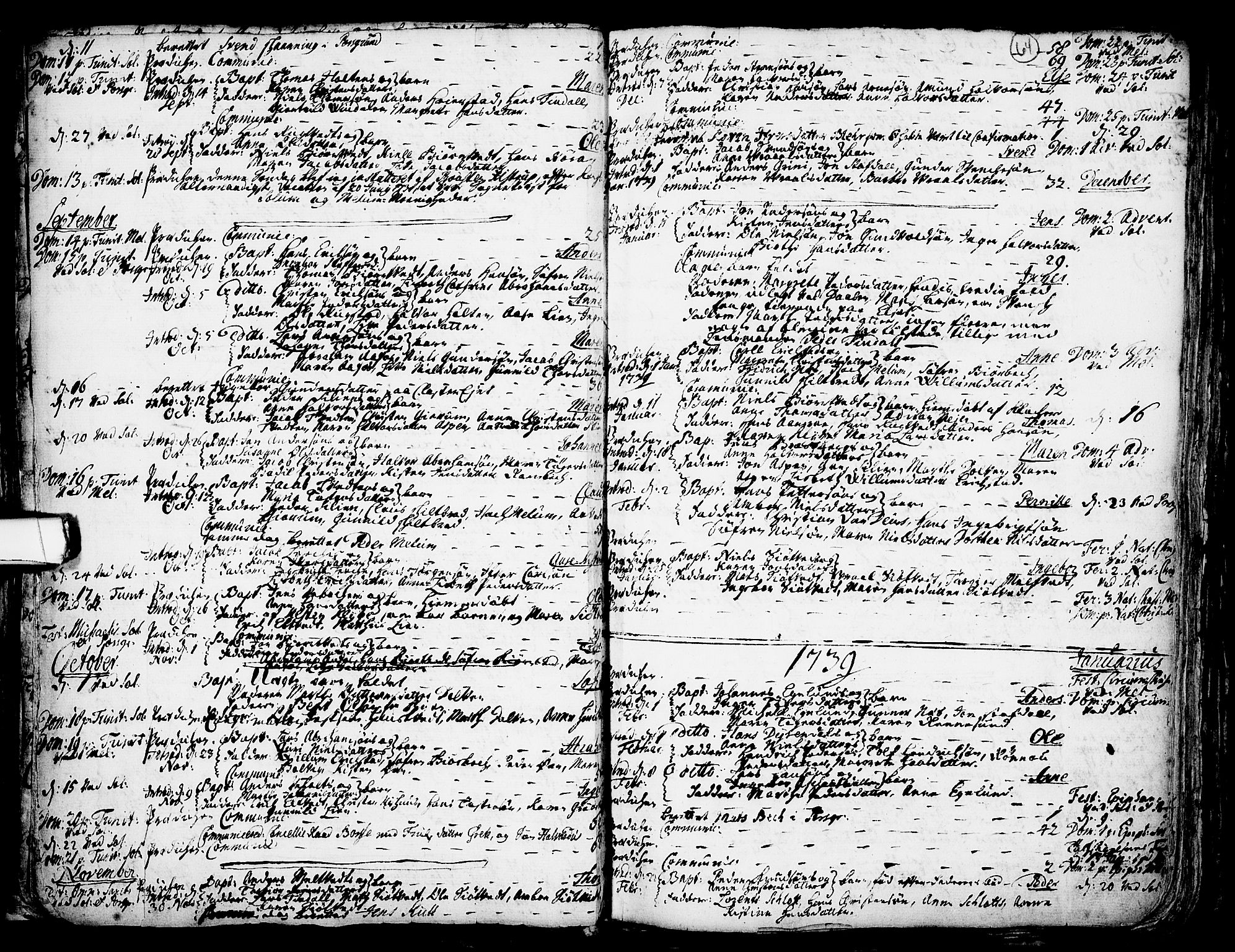 SAKO, Solum kirkebøker, F/Fa/L0002: Ministerialbok nr. I 2, 1713-1761, s. 64