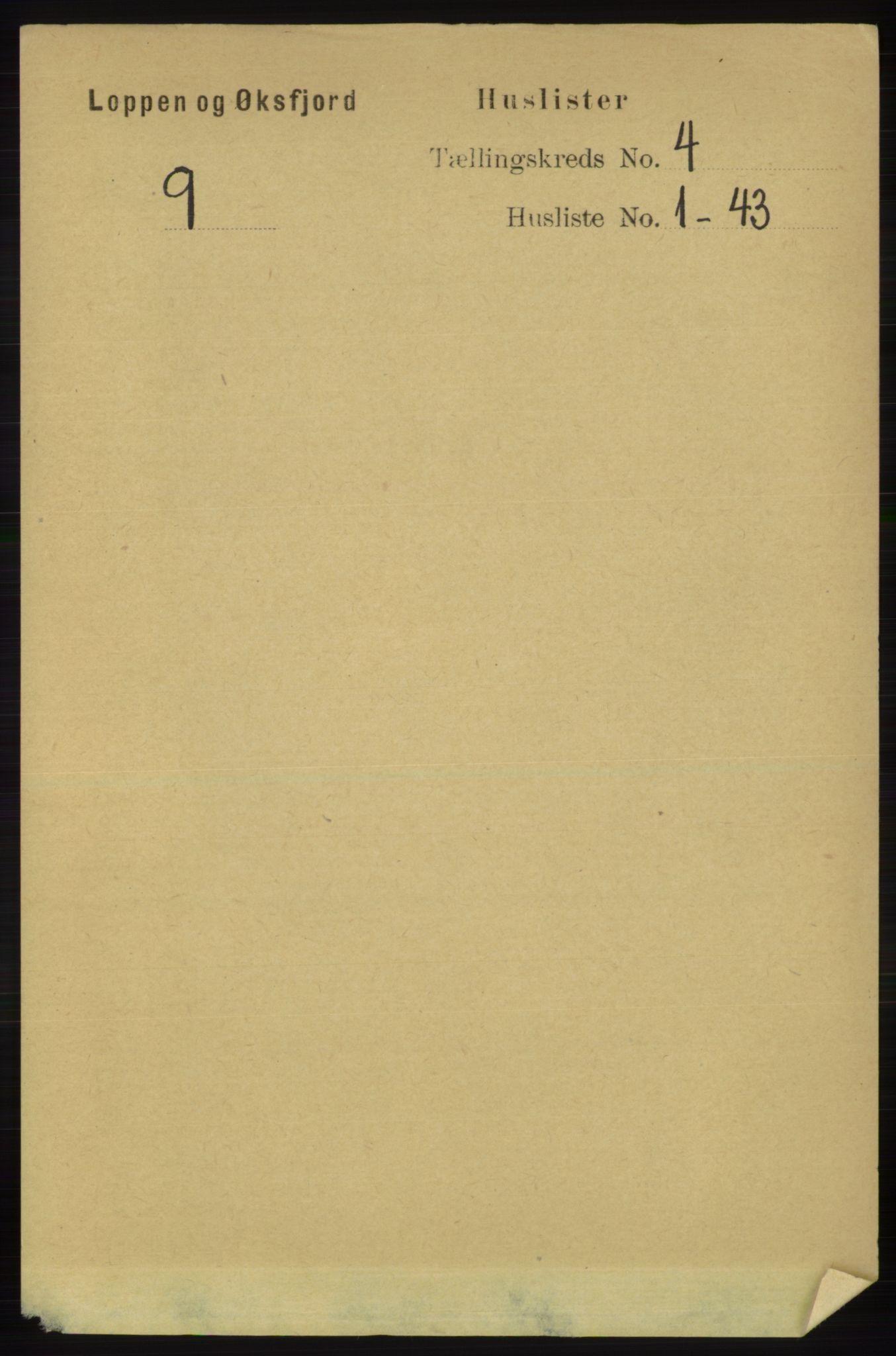 RA, Folketelling 1891 for 2014 Loppa herred, 1891, s. 816