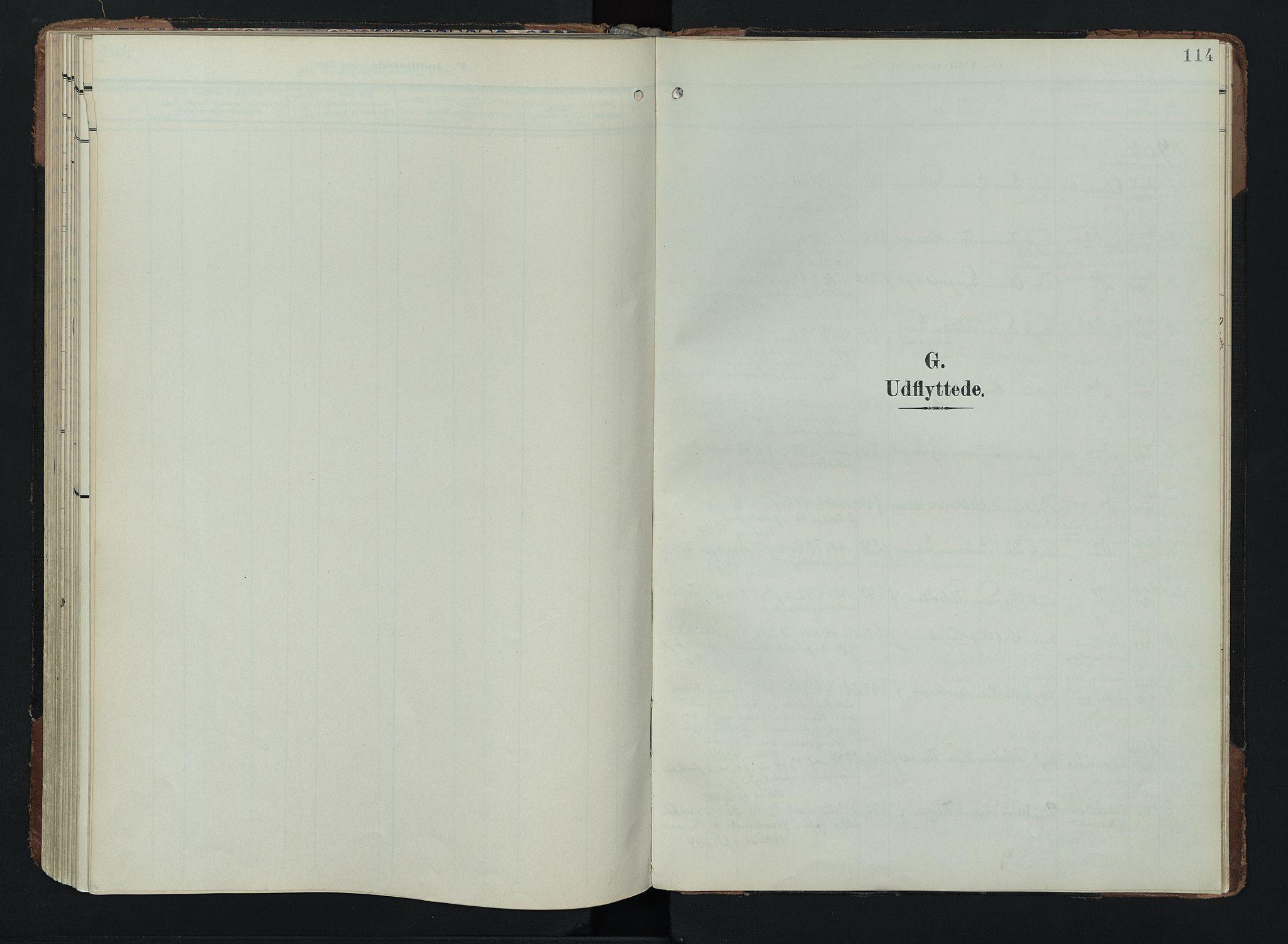 SAH, Lom prestekontor, K/L0011: Ministerialbok nr. 11, 1904-1928, s. 114