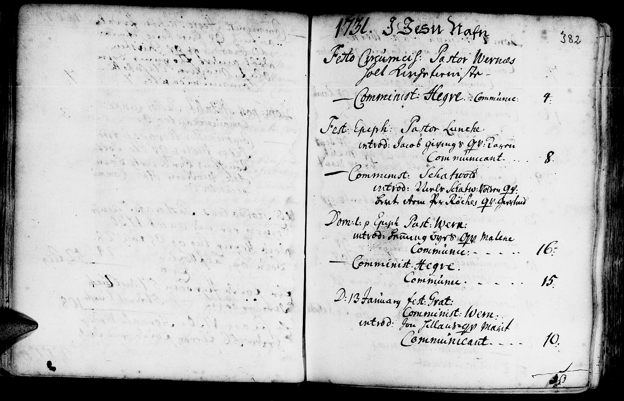 SAT, Ministerialprotokoller, klokkerbøker og fødselsregistre - Nord-Trøndelag, 709/L0054: Ministerialbok nr. 709A02, 1714-1738, s. 381-382
