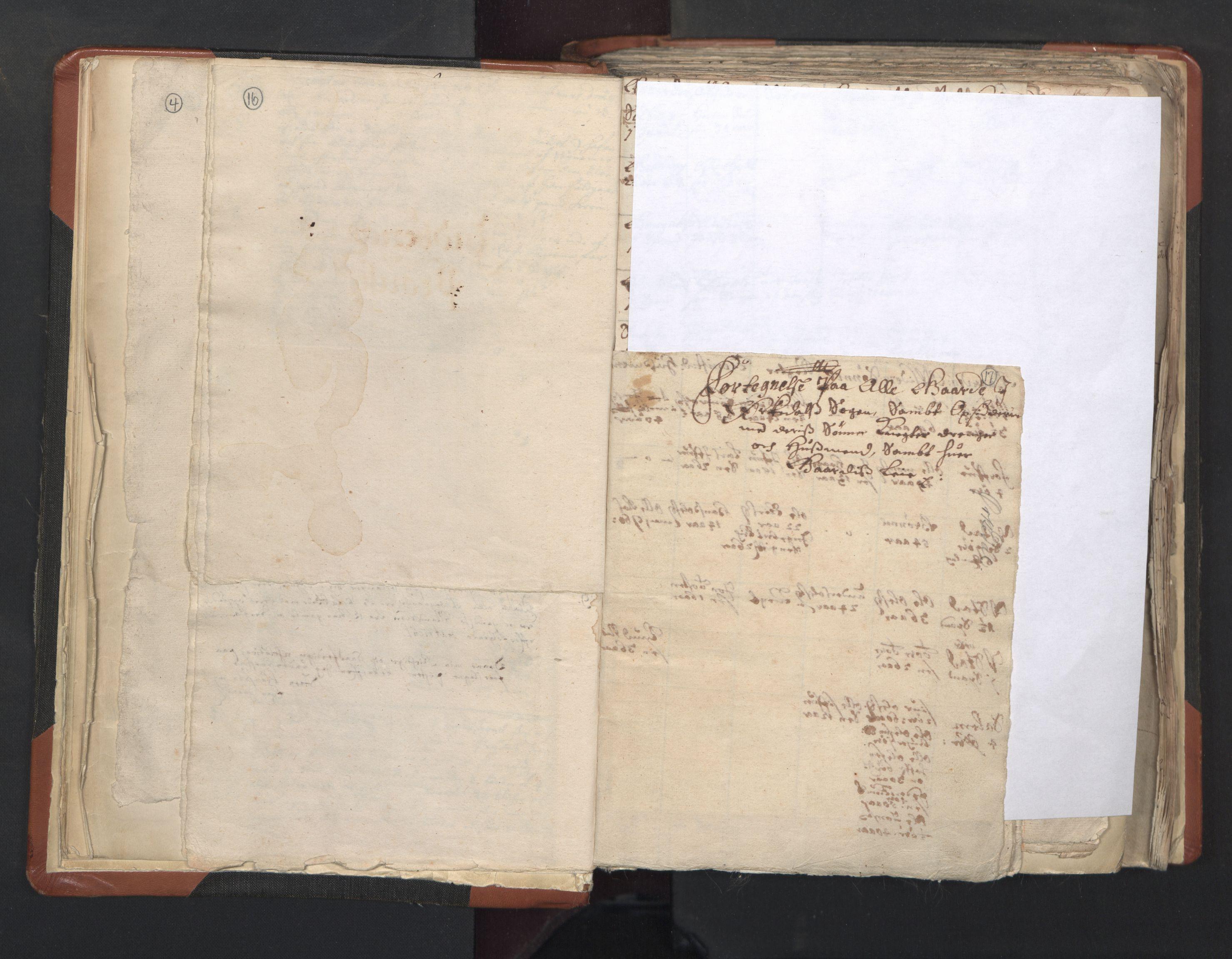 RA, Sogneprestenes manntall 1664-1666, nr. 31: Dalane prosti, 1664-1666, s. 16-17