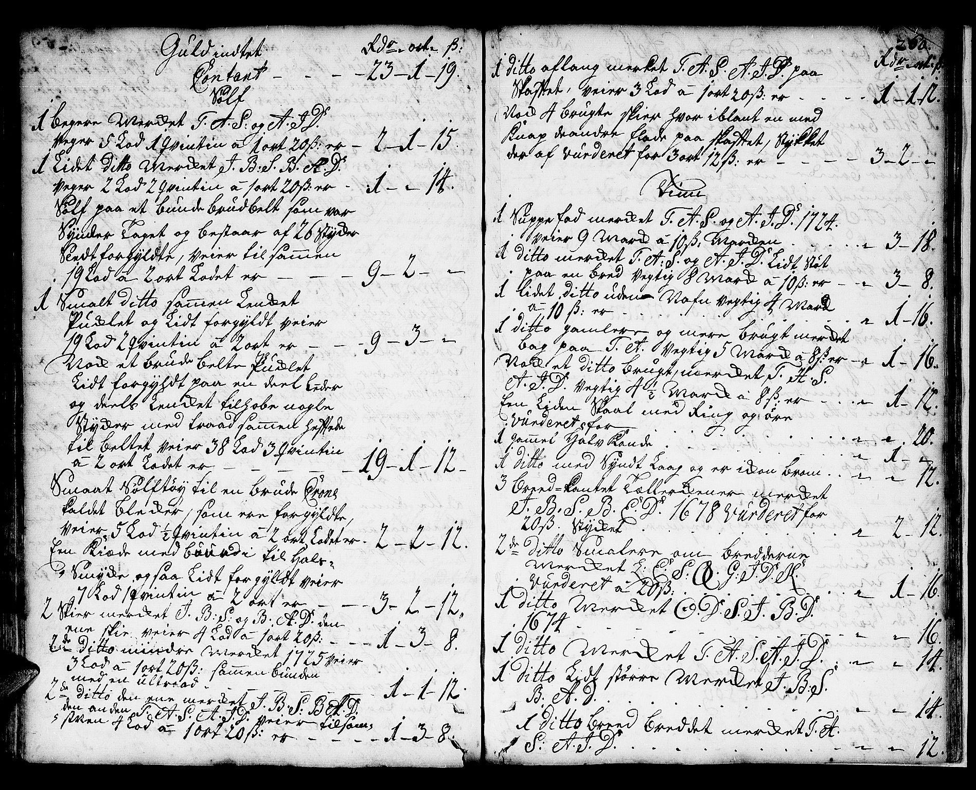 SAT, Romsdal prosti, I/I1/L0001: Retts- og skifteprotokoll m/register, 1706-1749, s. 259b-260a
