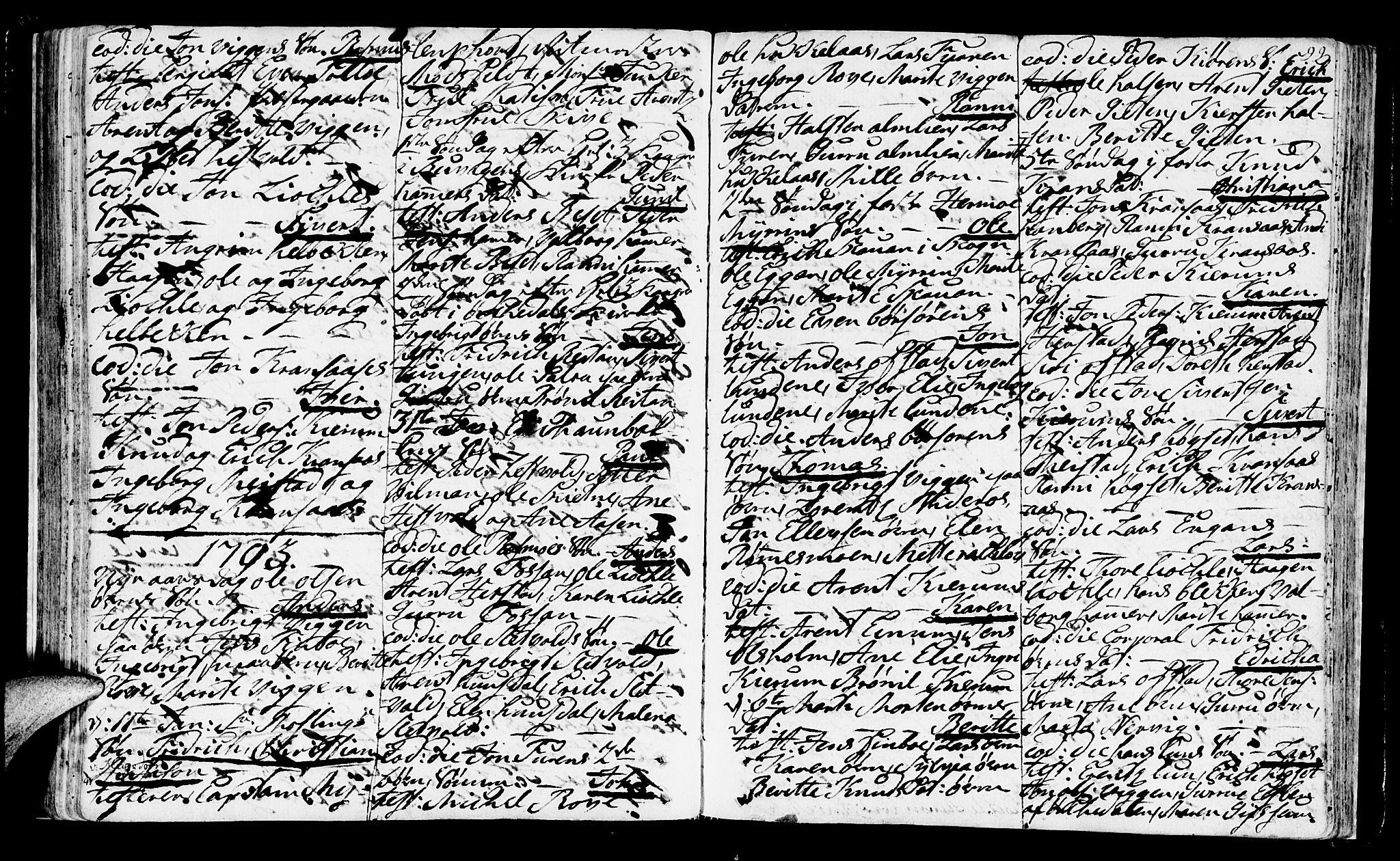SAT, Ministerialprotokoller, klokkerbøker og fødselsregistre - Sør-Trøndelag, 665/L0768: Ministerialbok nr. 665A03, 1754-1803, s. 99