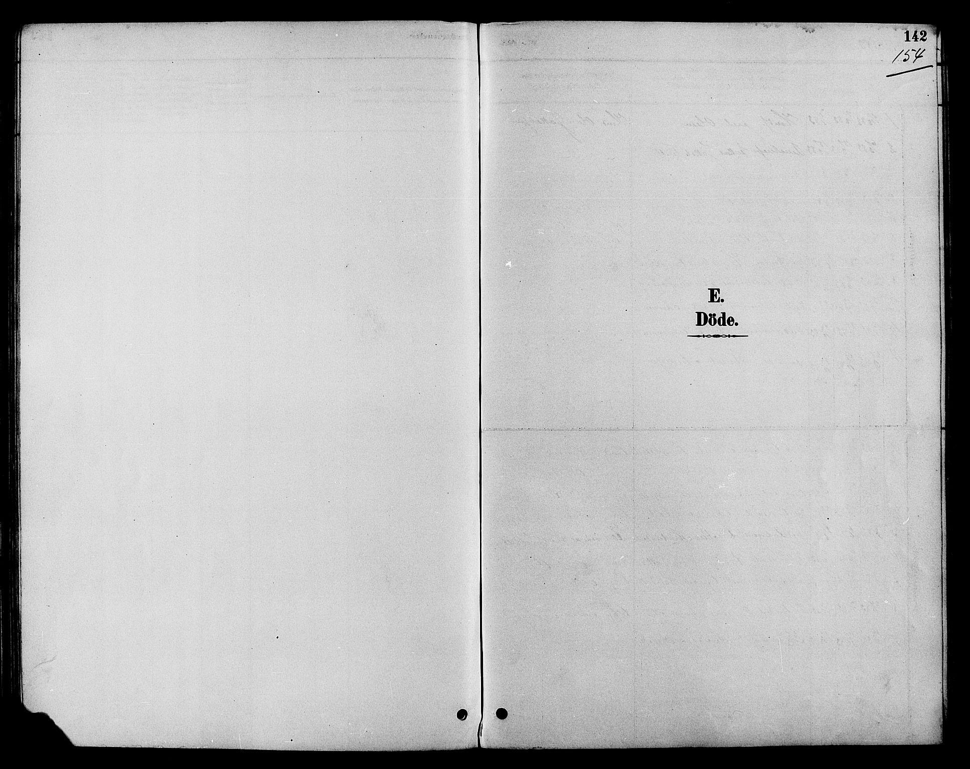 SAH, Nord-Aurdal prestekontor, Klokkerbok nr. 7, 1883-1910, s. 154