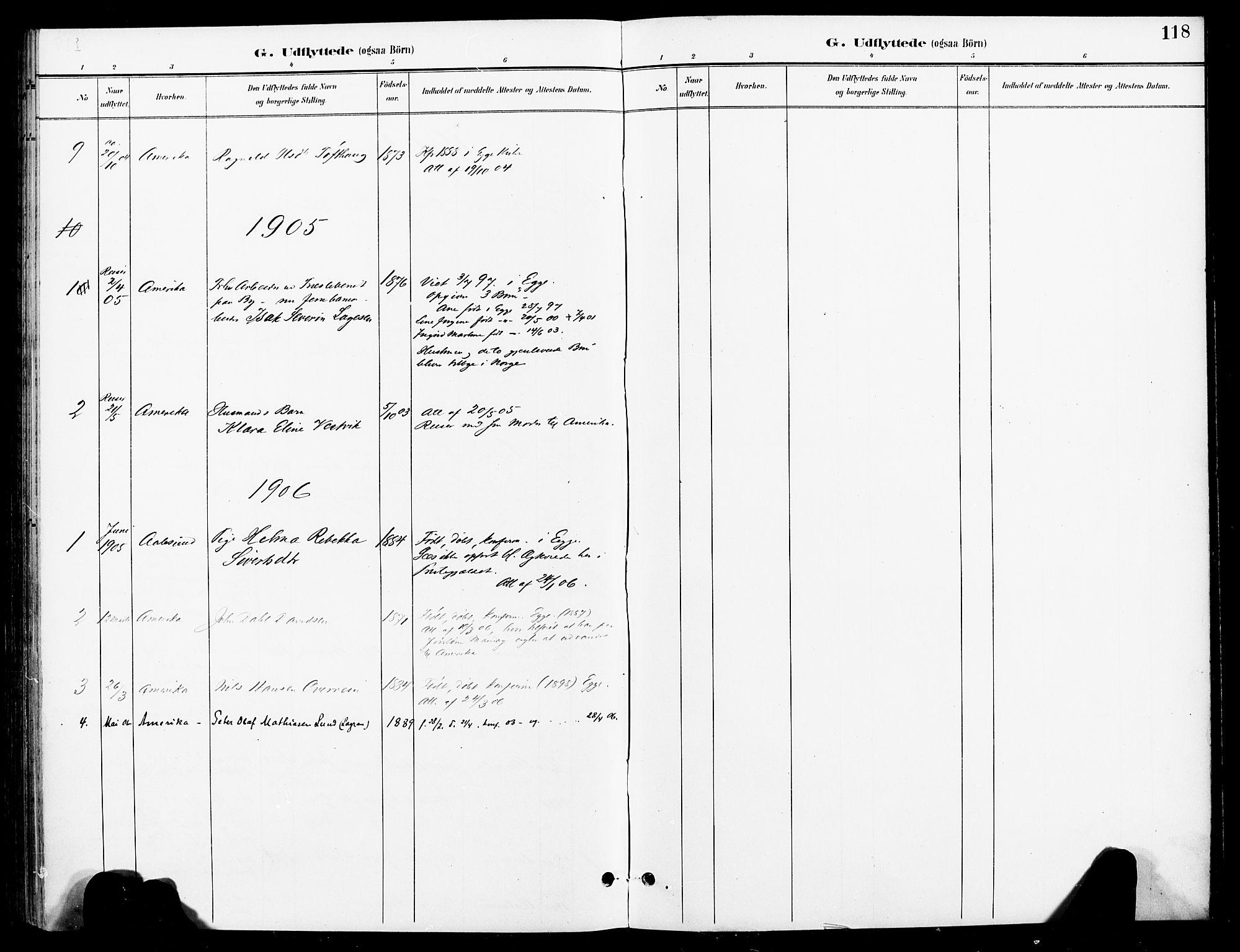 SAT, Ministerialprotokoller, klokkerbøker og fødselsregistre - Nord-Trøndelag, 740/L0379: Ministerialbok nr. 740A02, 1895-1907, s. 118
