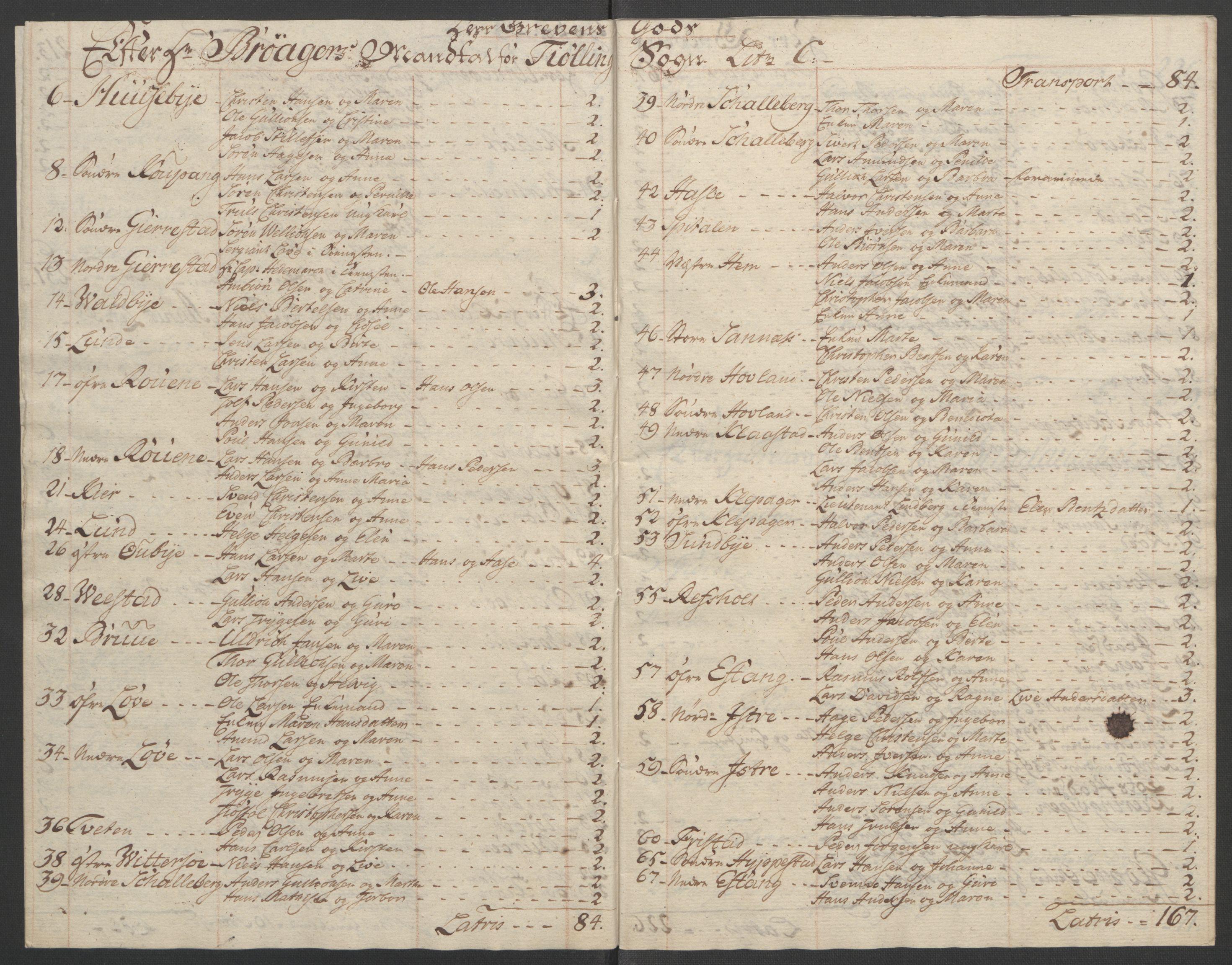 RA, Rentekammeret inntil 1814, Reviderte regnskaper, Fogderegnskap, R33/L2033: Ekstraskatten Larvik grevskap, 1762-1764, s. 551