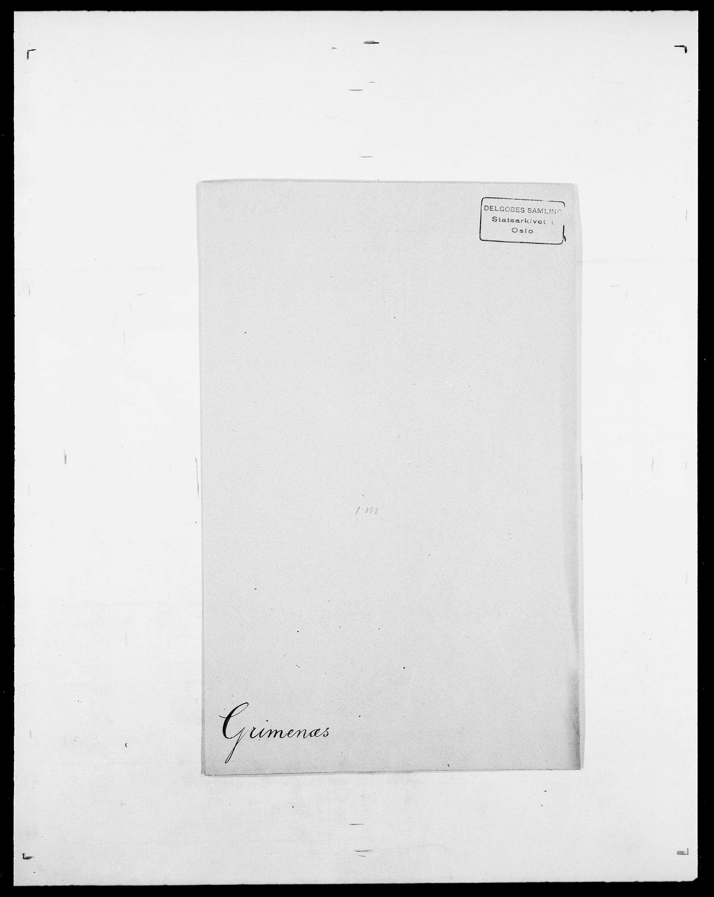 SAO, Delgobe, Charles Antoine - samling, D/Da/L0014: Giebdhausen - Grip, s. 683