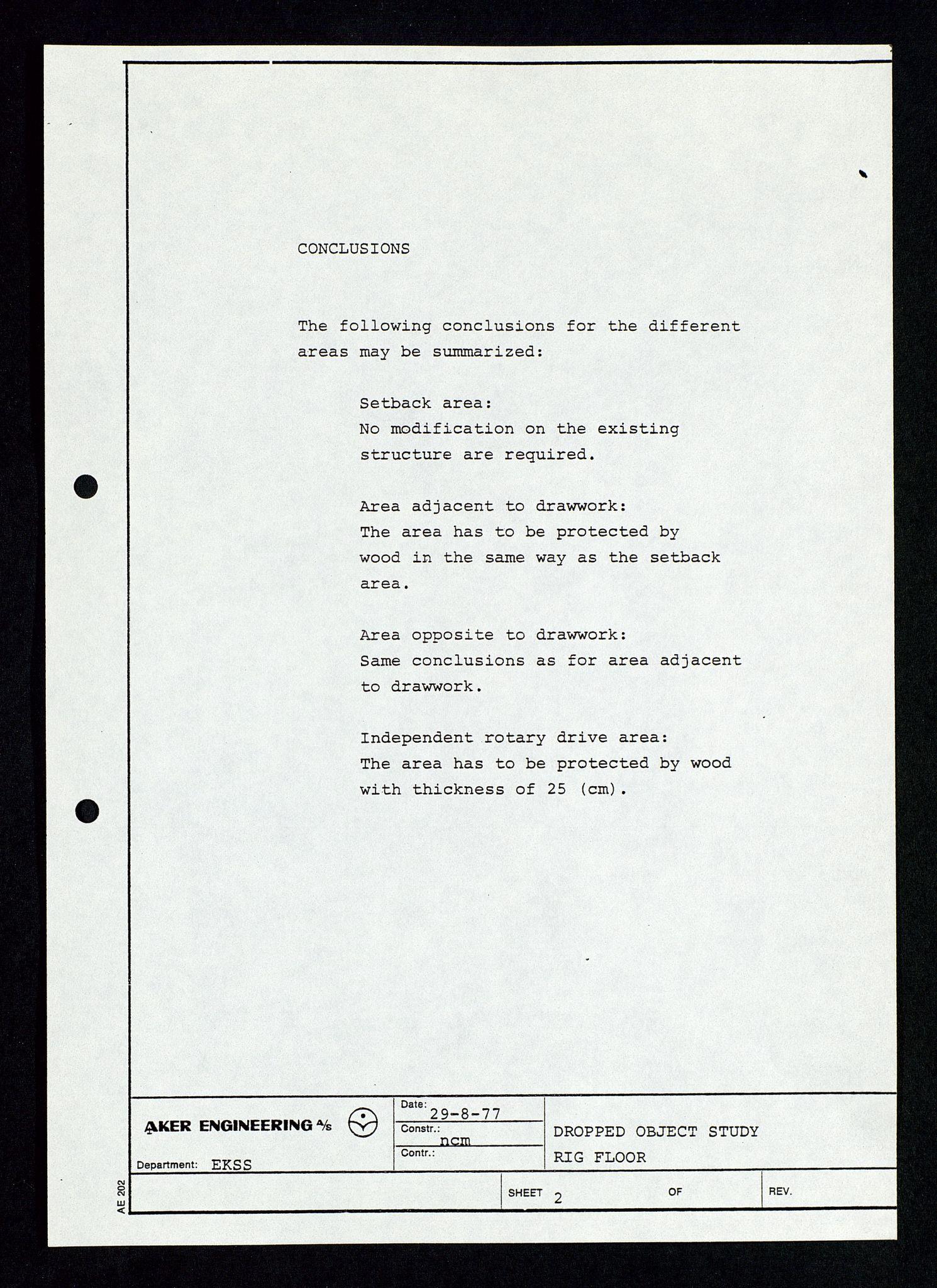 SAST, Pa 1339 - Statoil ASA, D/Dm/L0348: Gravitasjonsplattform betong, 1975-1978, s. 127