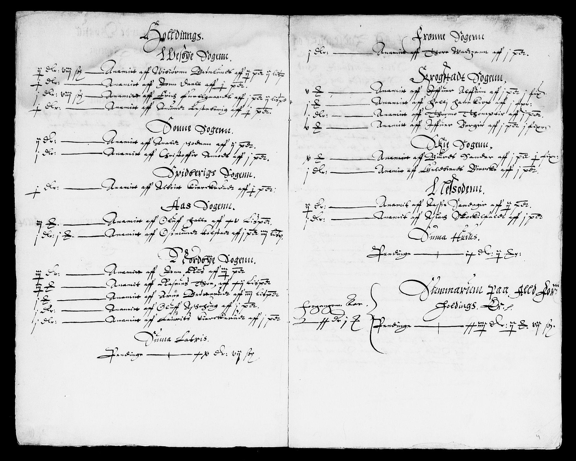 RA, Rentekammeret inntil 1814, Reviderte regnskaper, Lensregnskaper, R/Rb/Rba/L0026: Akershus len, 1610-1612