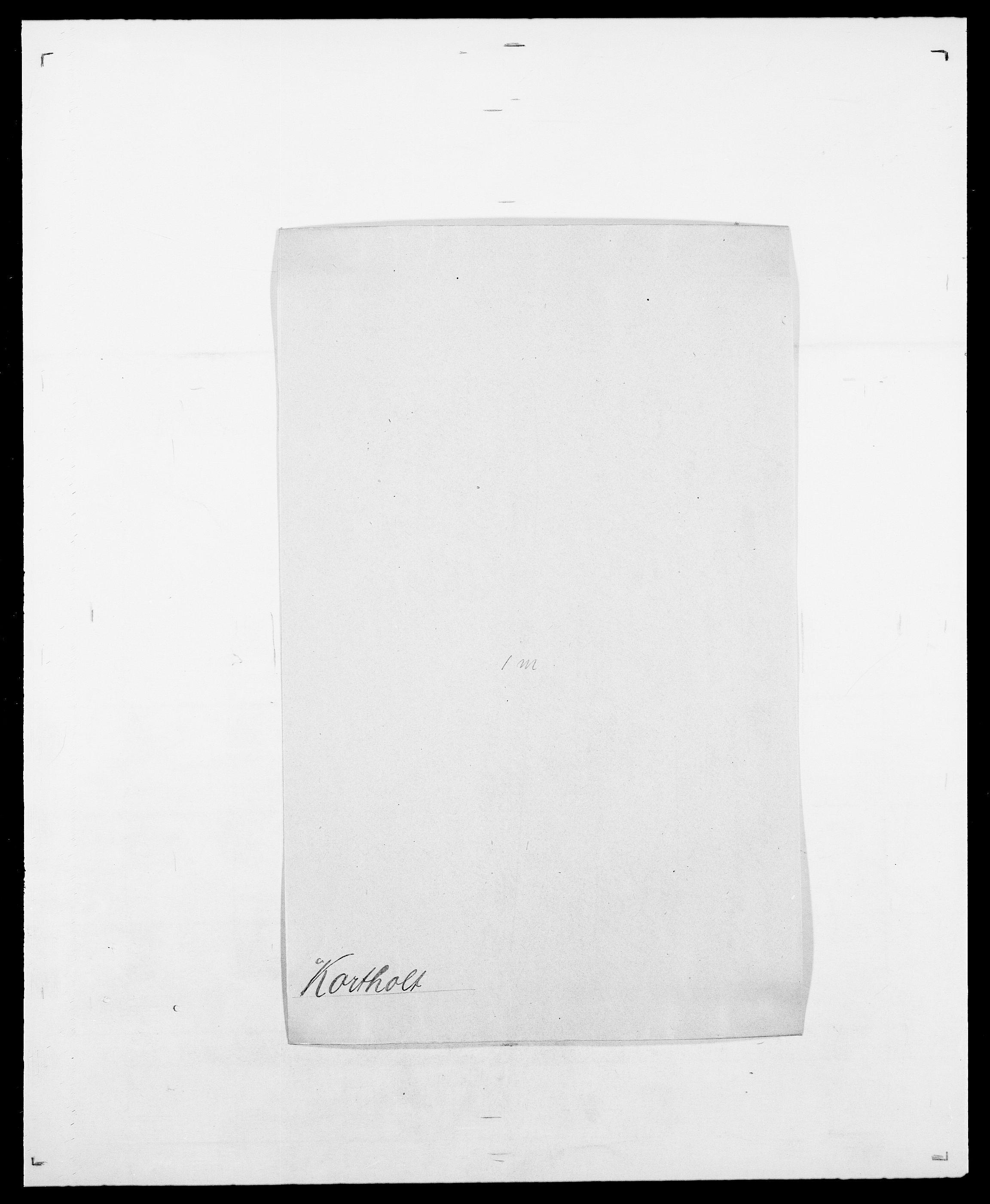 SAO, Delgobe, Charles Antoine - samling, D/Da/L0021: Klagenberg - Kristoft, s. 583