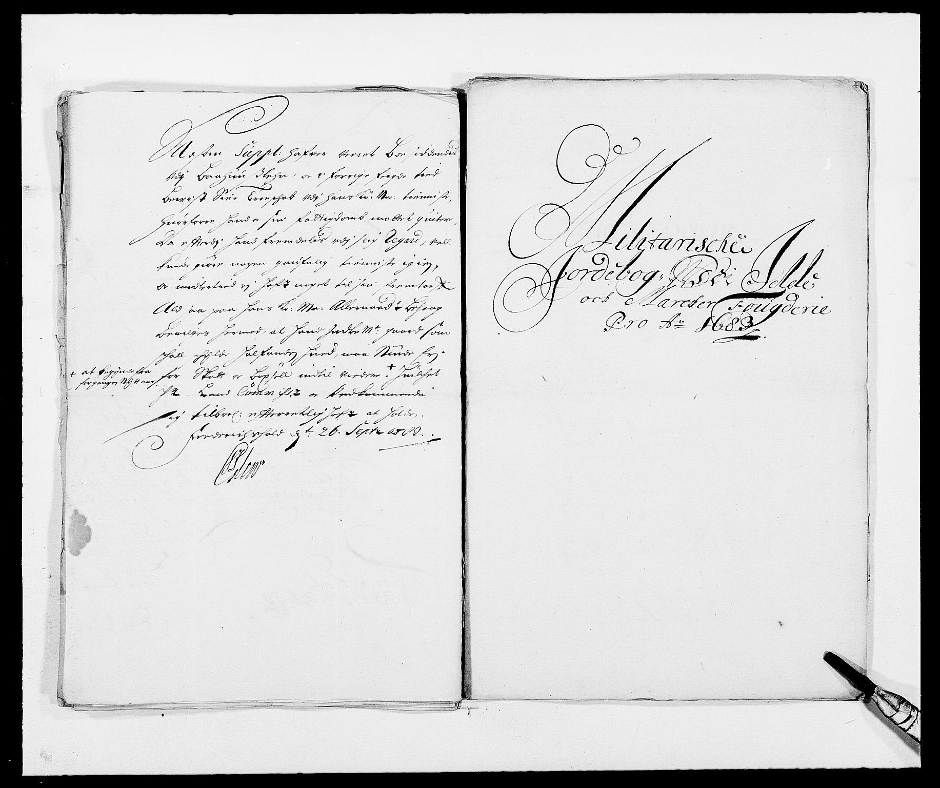 RA, Rentekammeret inntil 1814, Reviderte regnskaper, Fogderegnskap, R01/L0005: Fogderegnskap Idd og Marker , 1682-1684, s. 242