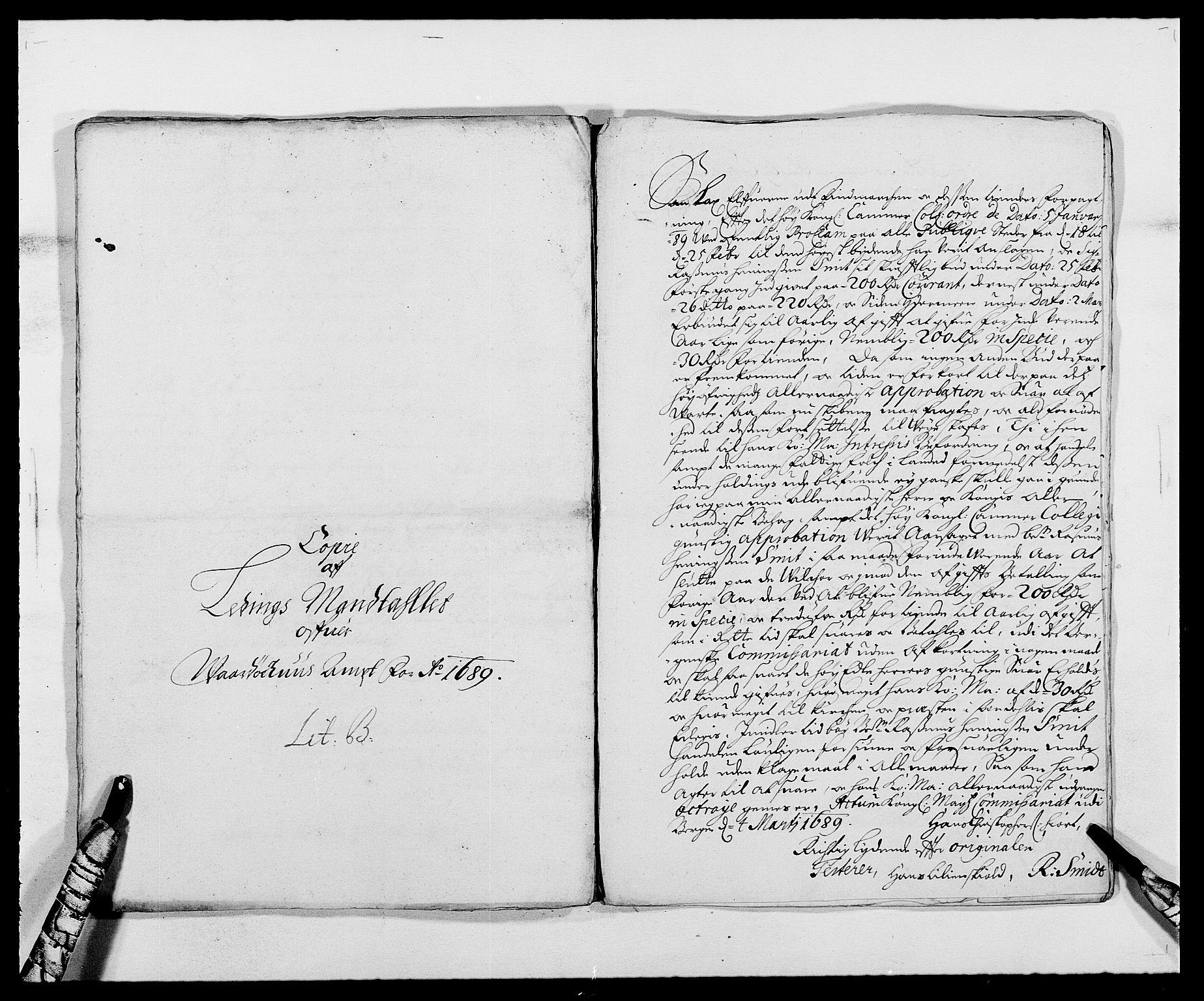 RA, Rentekammeret inntil 1814, Reviderte regnskaper, Fogderegnskap, R69/L4850: Fogderegnskap Finnmark/Vardøhus, 1680-1690, s. 145