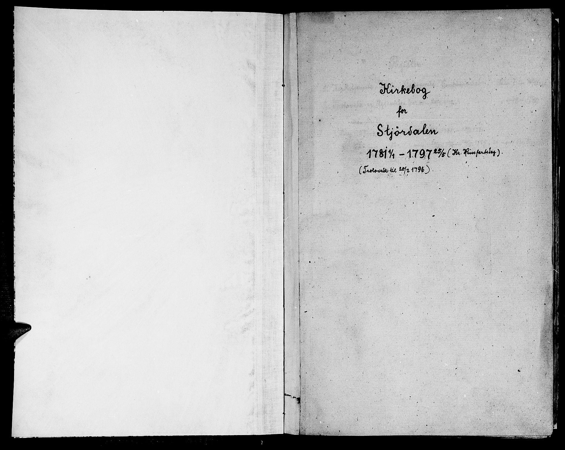 SAT, Ministerialprotokoller, klokkerbøker og fødselsregistre - Nord-Trøndelag, 709/L0059: Ministerialbok nr. 709A06, 1781-1797
