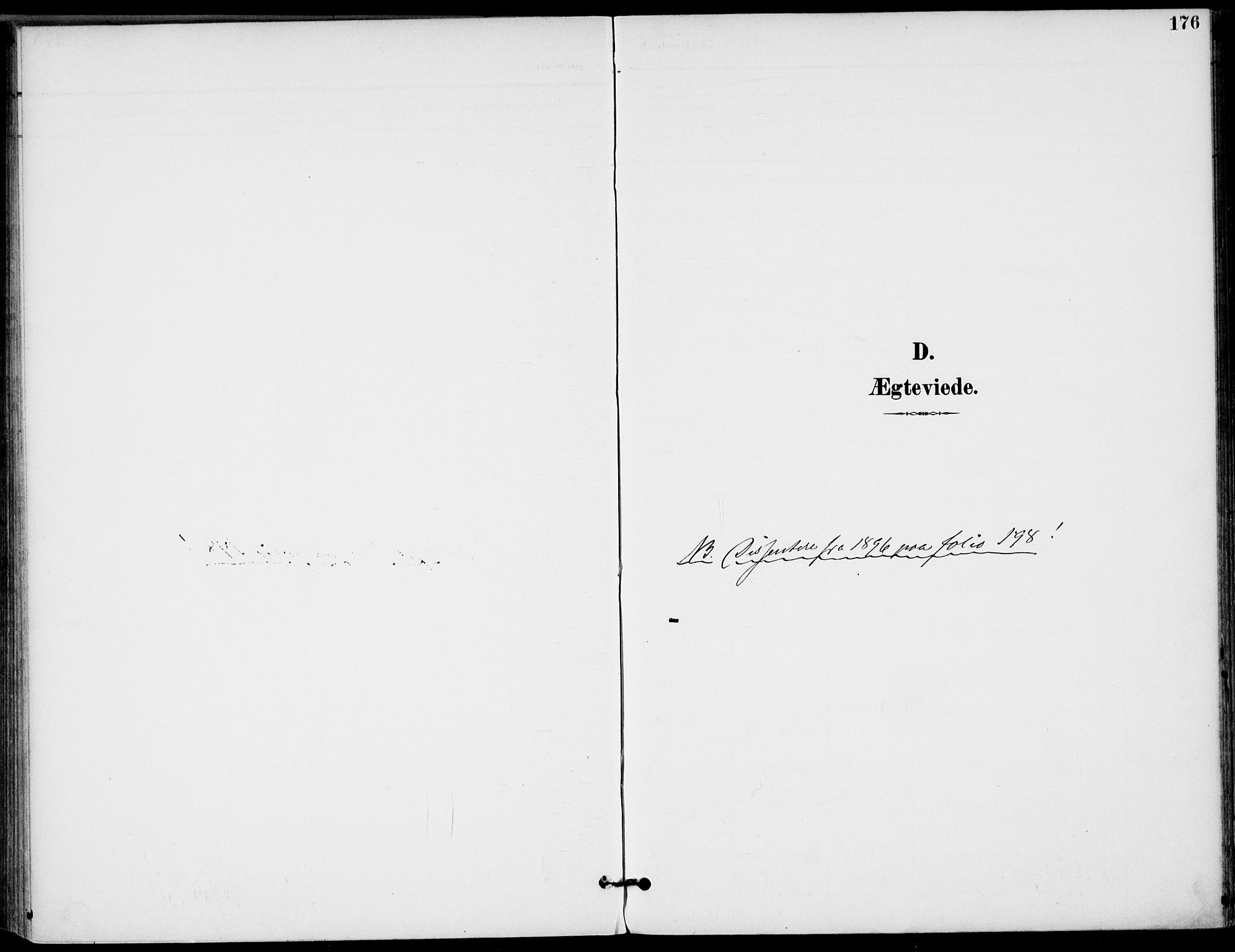 SAKO, Drangedal kirkebøker, F/Fa/L0012: Ministerialbok nr. 12, 1895-1905, s. 176