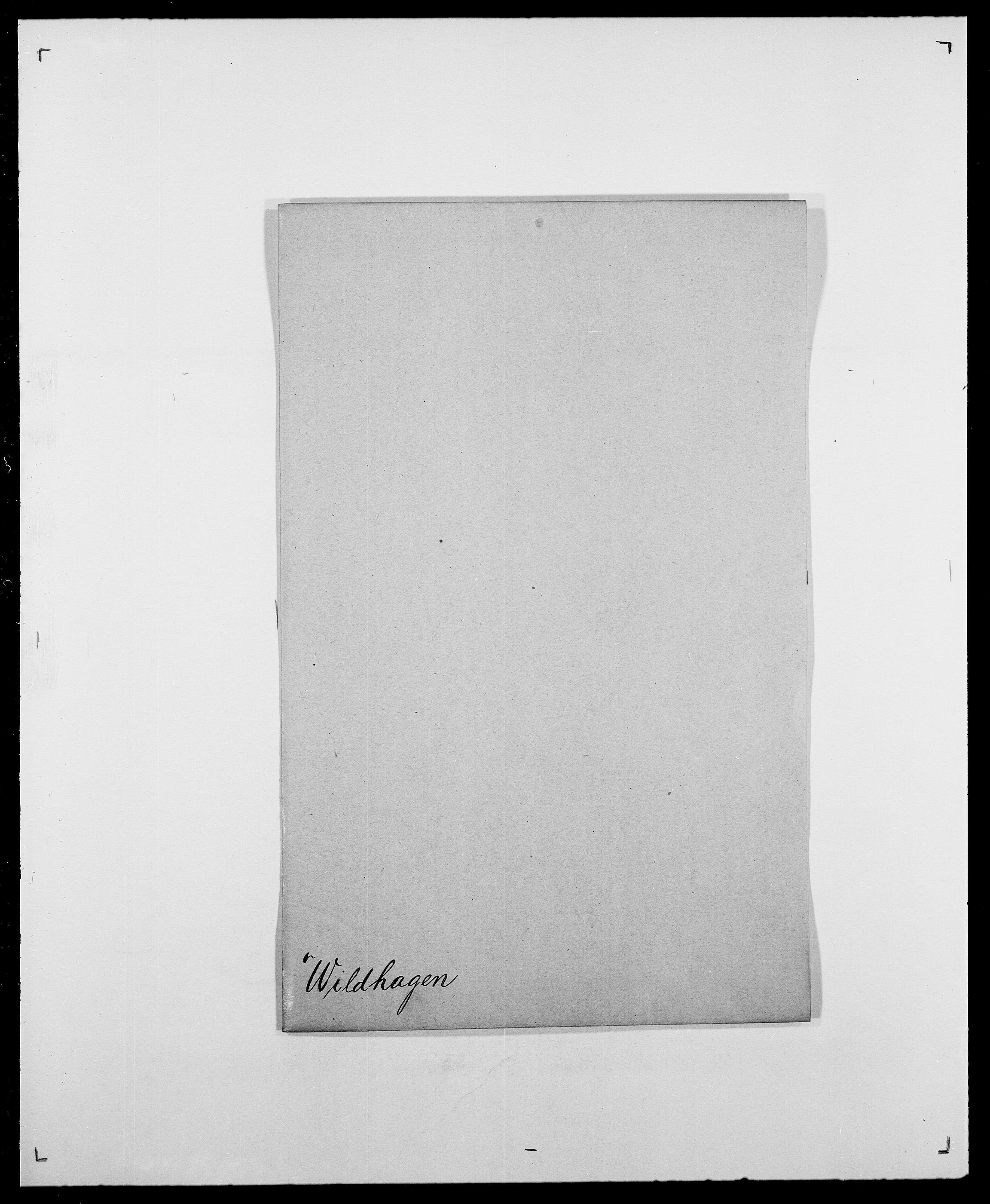 SAO, Delgobe, Charles Antoine - samling, D/Da/L0042: Vilain - Wulf, Wulff, se også Wolf, s. 25