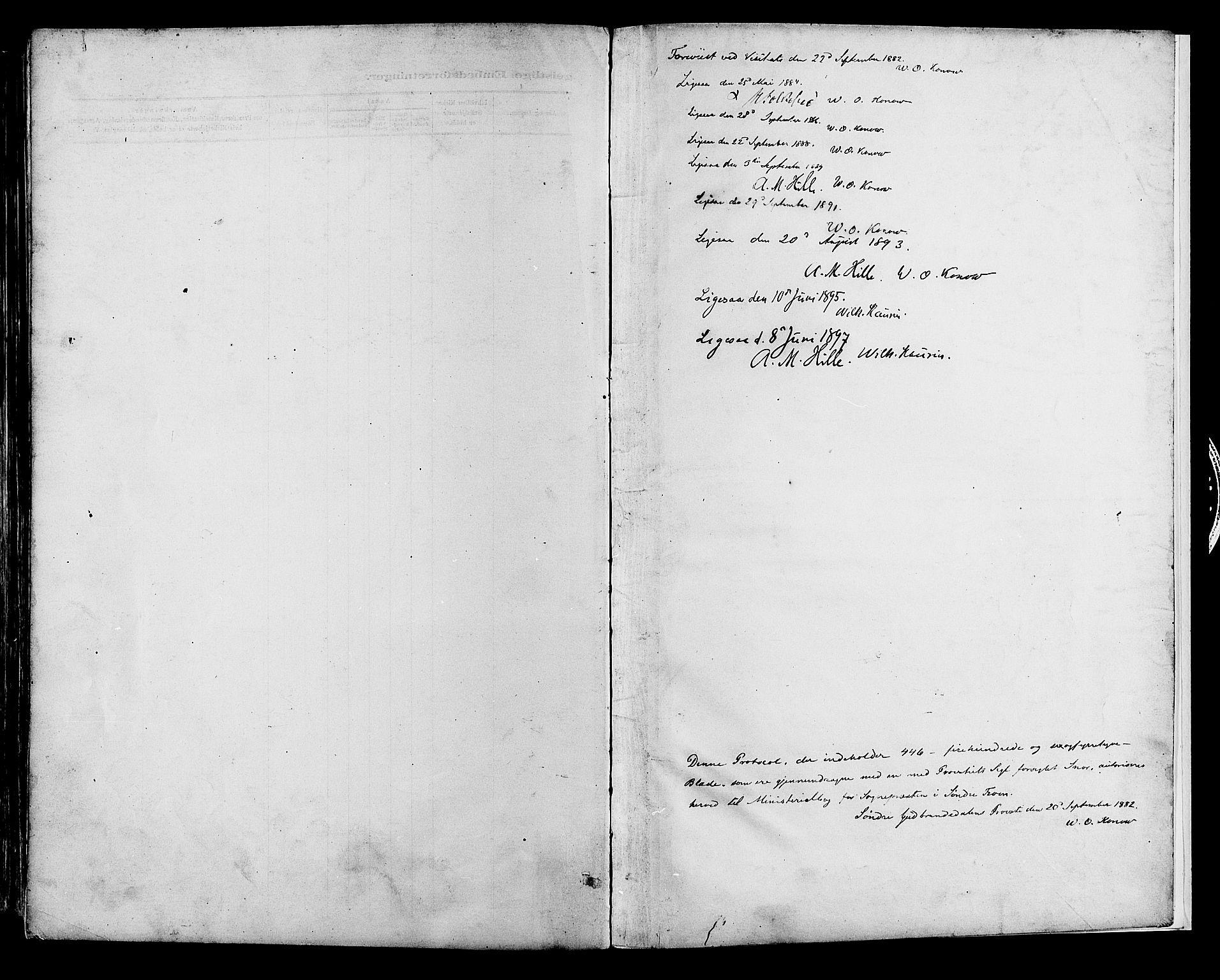 SAH, Sør-Fron prestekontor, H/Ha/Haa/L0003: Ministerialbok nr. 3, 1881-1897