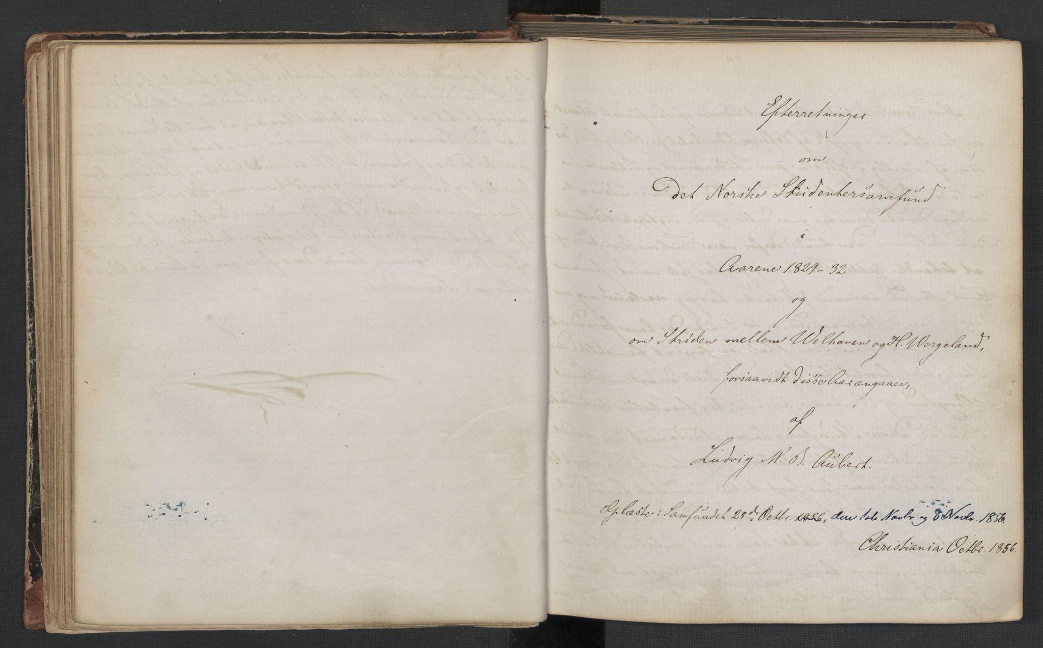 RA, Det Norske Studentersamfund, X/Xa/L0006, 1856-1857, s. 44