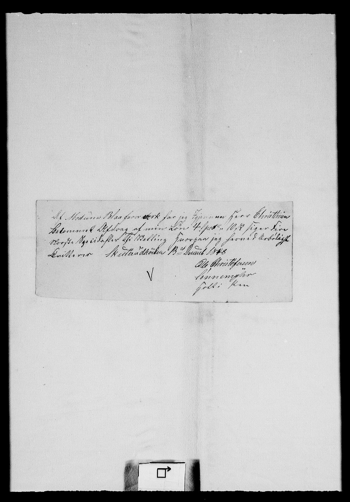 RA, Modums Blaafarveværk, G/Gd/Gdc/L0243, 1846-1849, s. 2