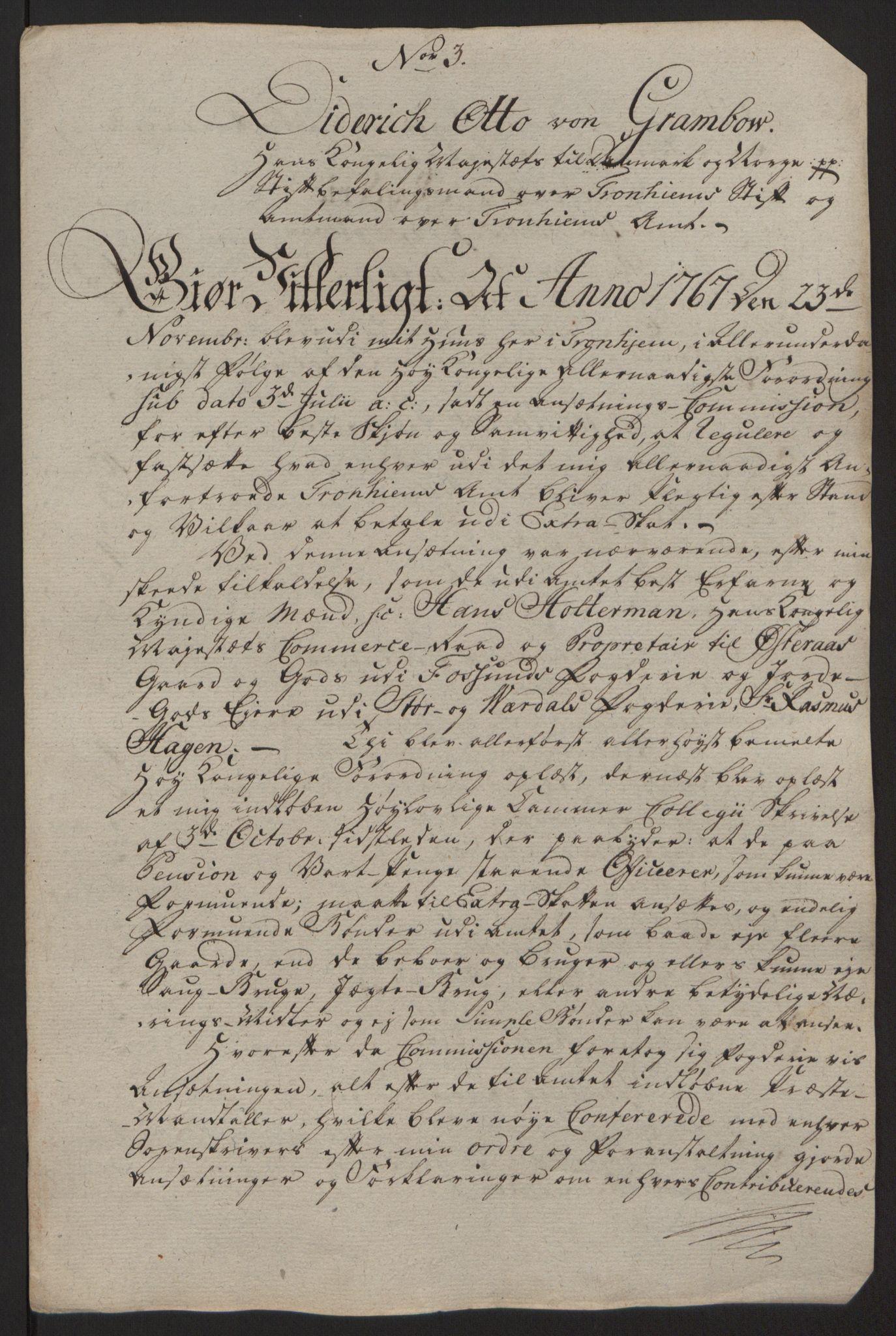RA, Rentekammeret inntil 1814, Reviderte regnskaper, Fogderegnskap, R63/L4420: Ekstraskatten Inderøy, 1762-1772, s. 503