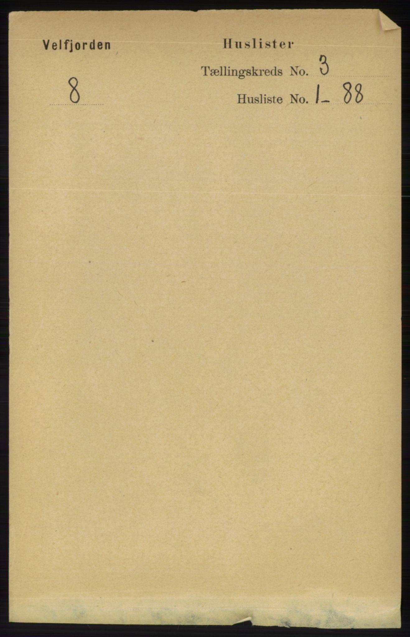 RA, Folketelling 1891 for 1813 Velfjord herred, 1891, s. 940