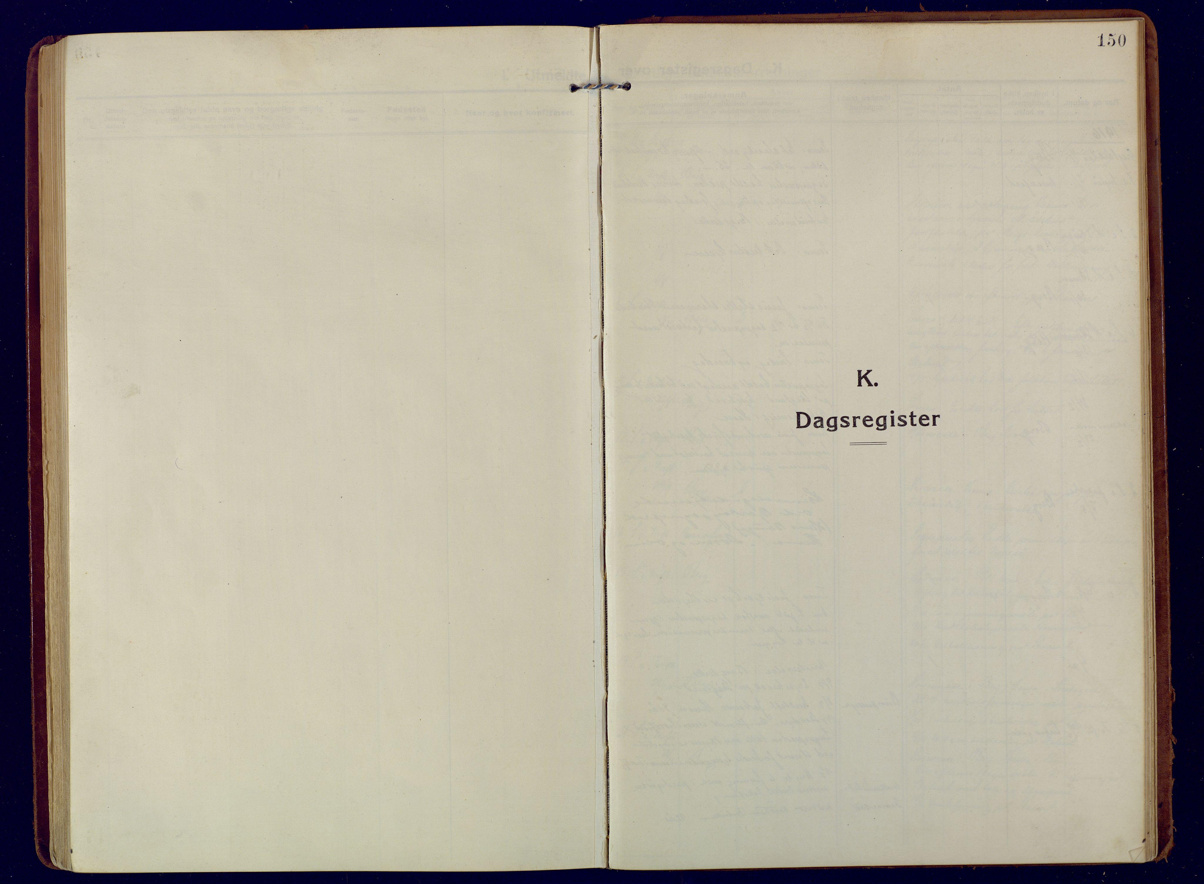SATØ, Mefjord/Berg sokneprestkontor, G/Ga/Gaa: Ministerialbok nr. 9, 1916-1928, s. 150