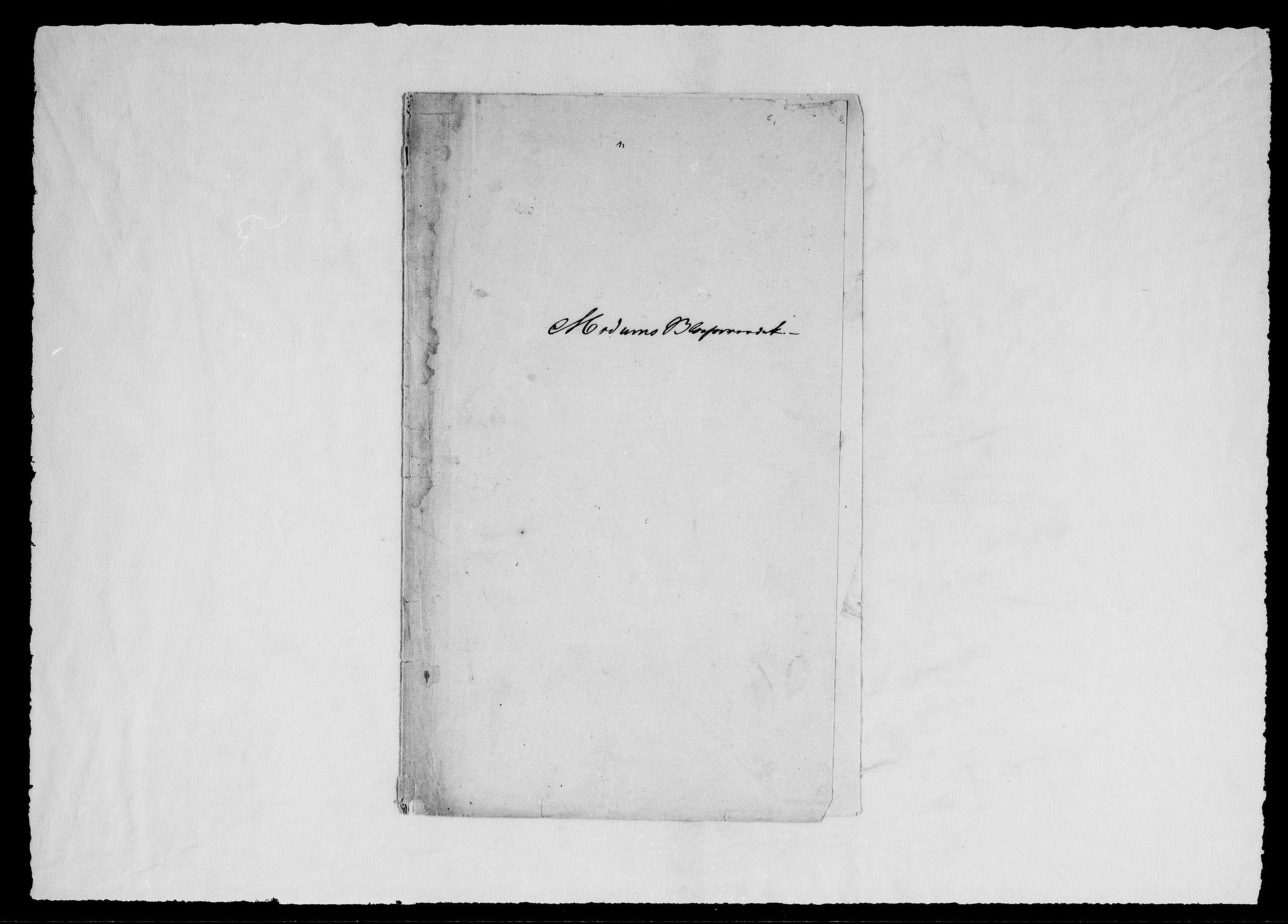 RA, Modums Blaafarveværk, G/Gc/L0160, 1786-1848, s. 2