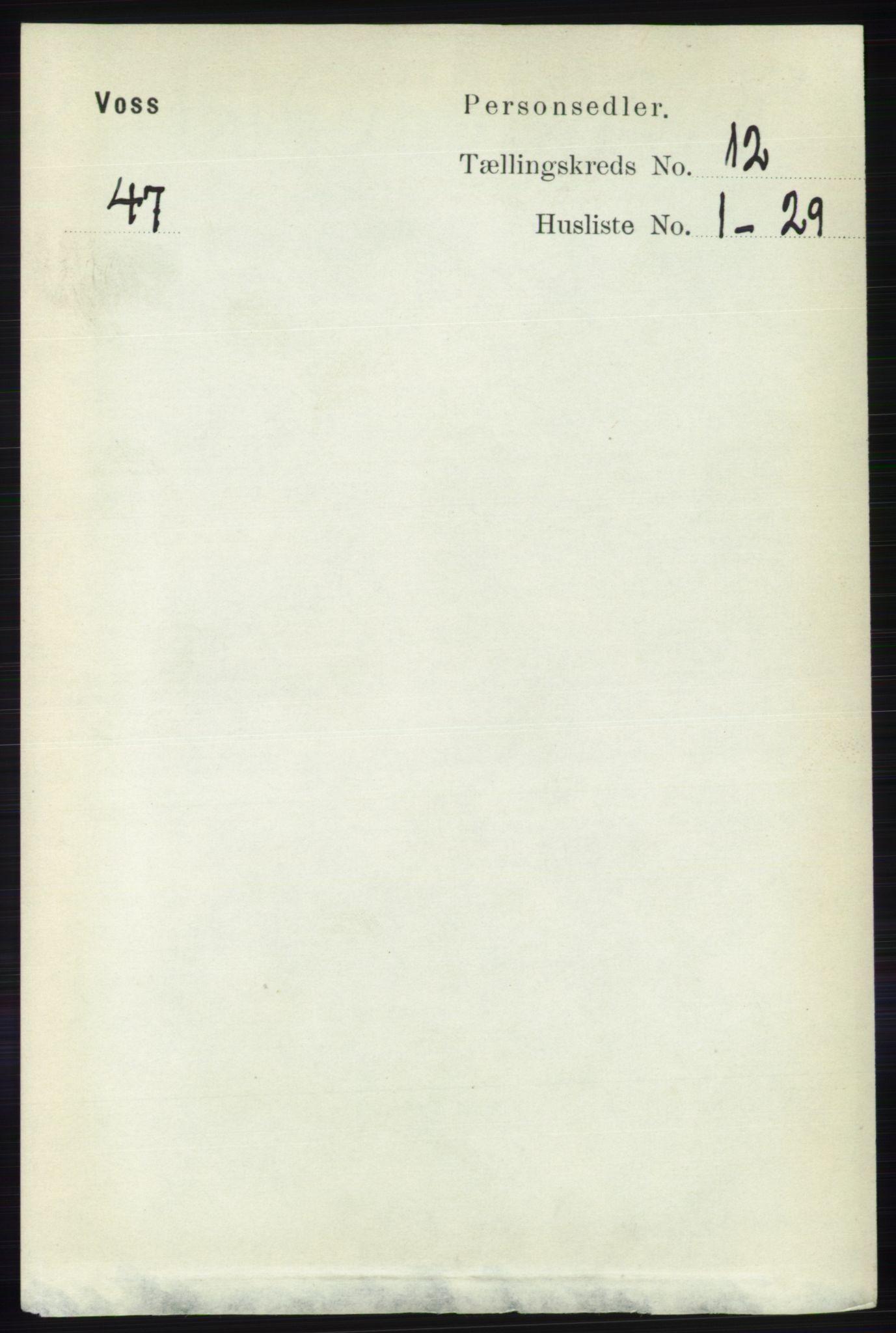 RA, Folketelling 1891 for 1235 Voss herred, 1891, s. 6480