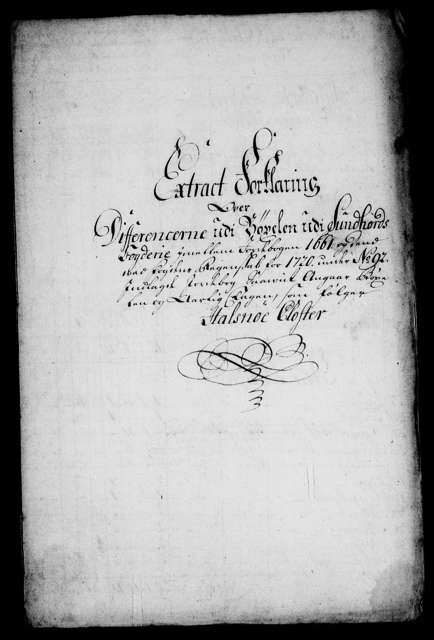 RA, Rentekammeret inntil 1814, Realistisk ordnet avdeling, On/L0005: [Jj 6]: Forskjellige dokumenter om Halsnøy klosters gods, 1697-1770, s. 370