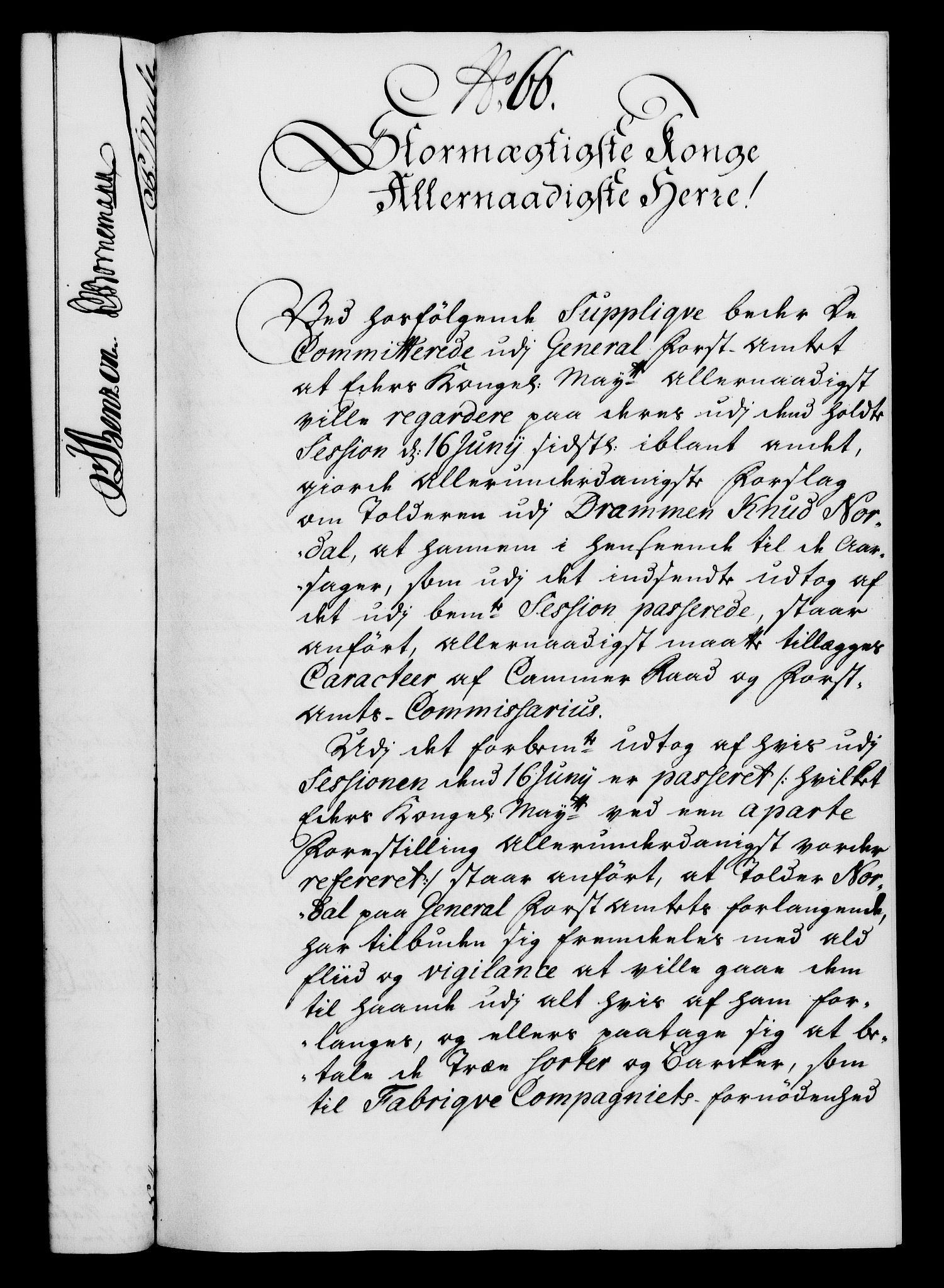 RA, Rentekammeret, Kammerkanselliet, G/Gf/Gfa/L0022: Norsk relasjons- og resolusjonsprotokoll (merket RK 52.22), 1739, s. 516