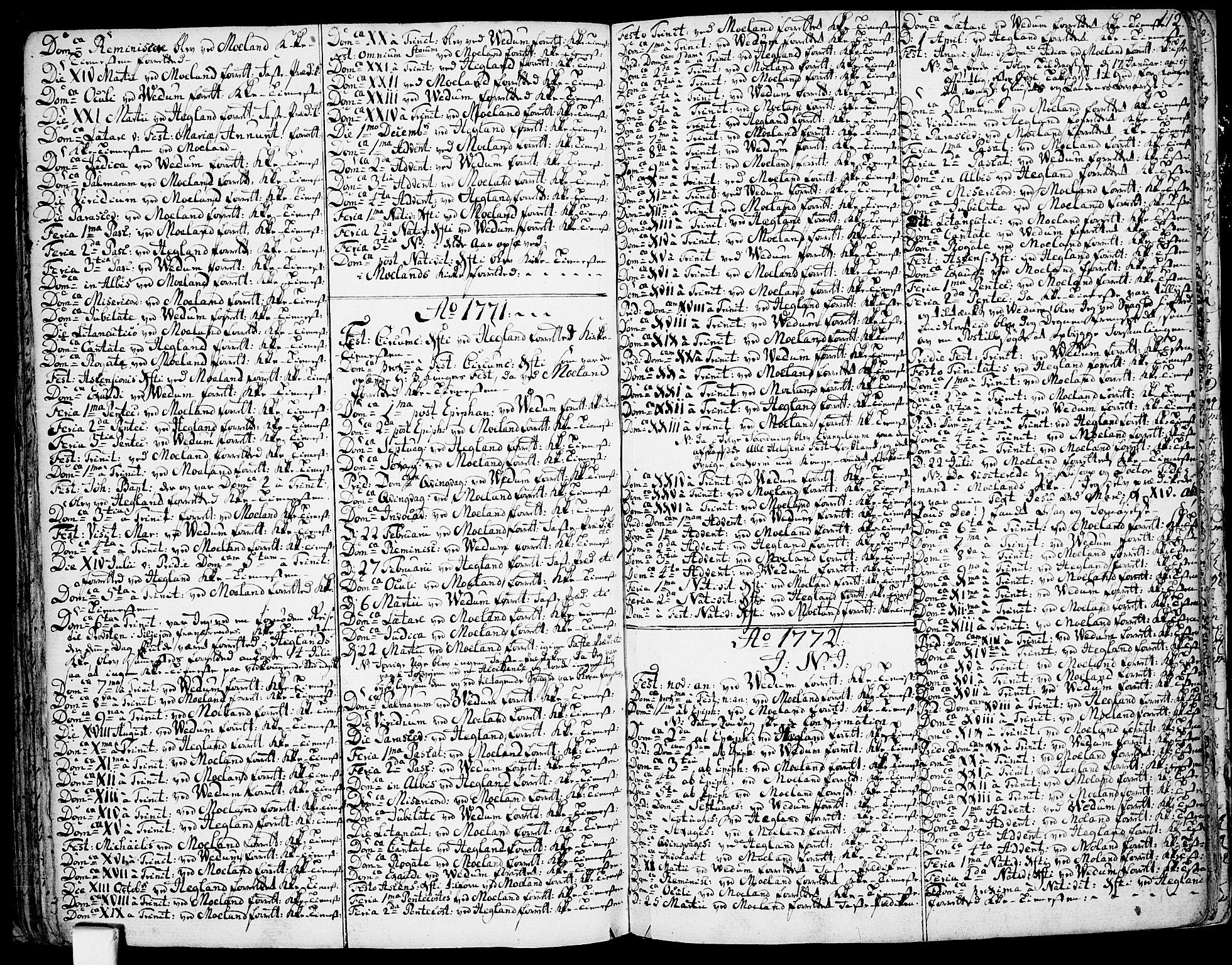 SAKO, Fyresdal kirkebøker, F/Fa/L0002: Ministerialbok nr. I 2, 1769-1814, s. 112