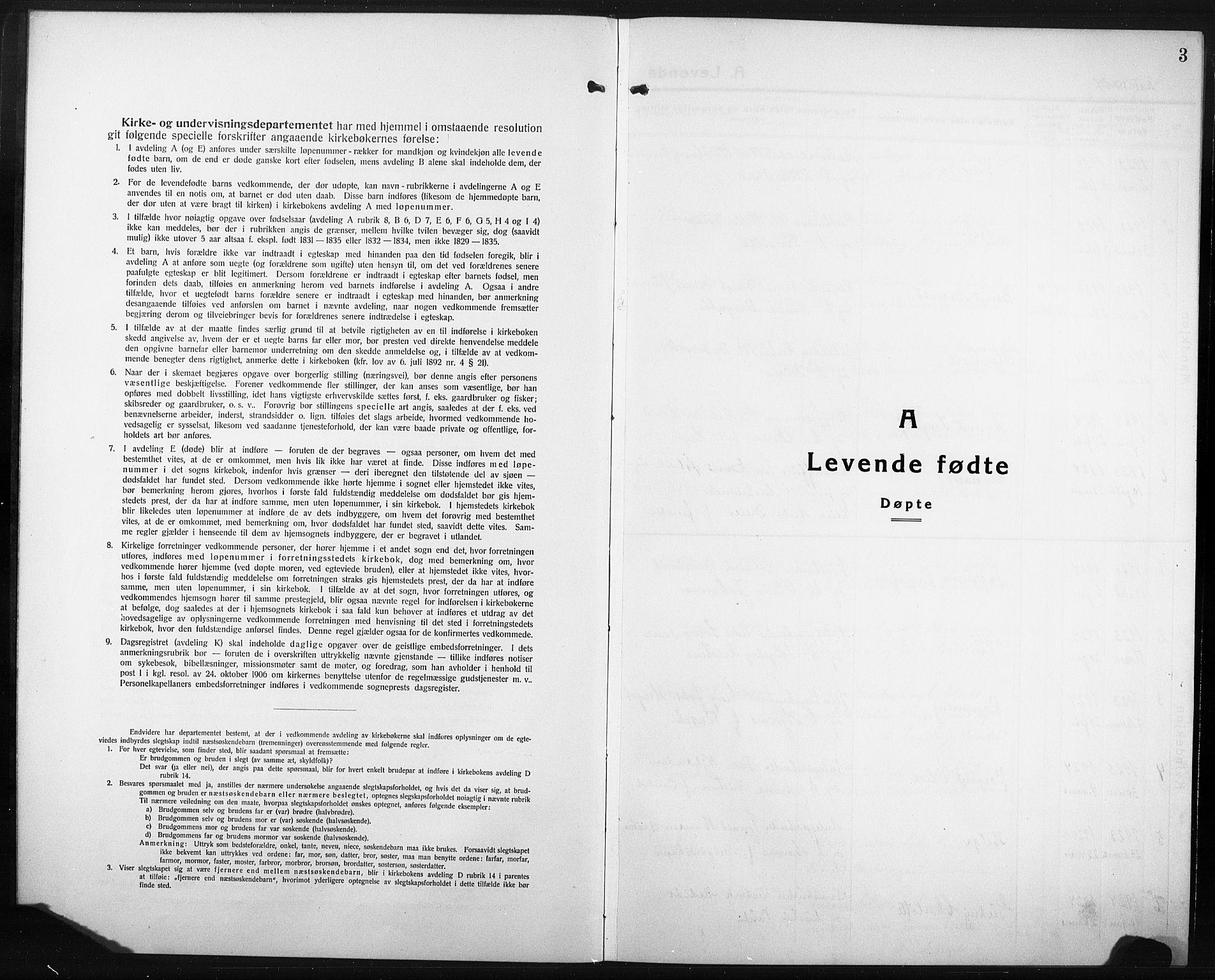 SAT, Ministerialprotokoller, klokkerbøker og fødselsregistre - Nord-Trøndelag, 749/L0480: Klokkerbok nr. 749C02, 1924-1932, s. 3