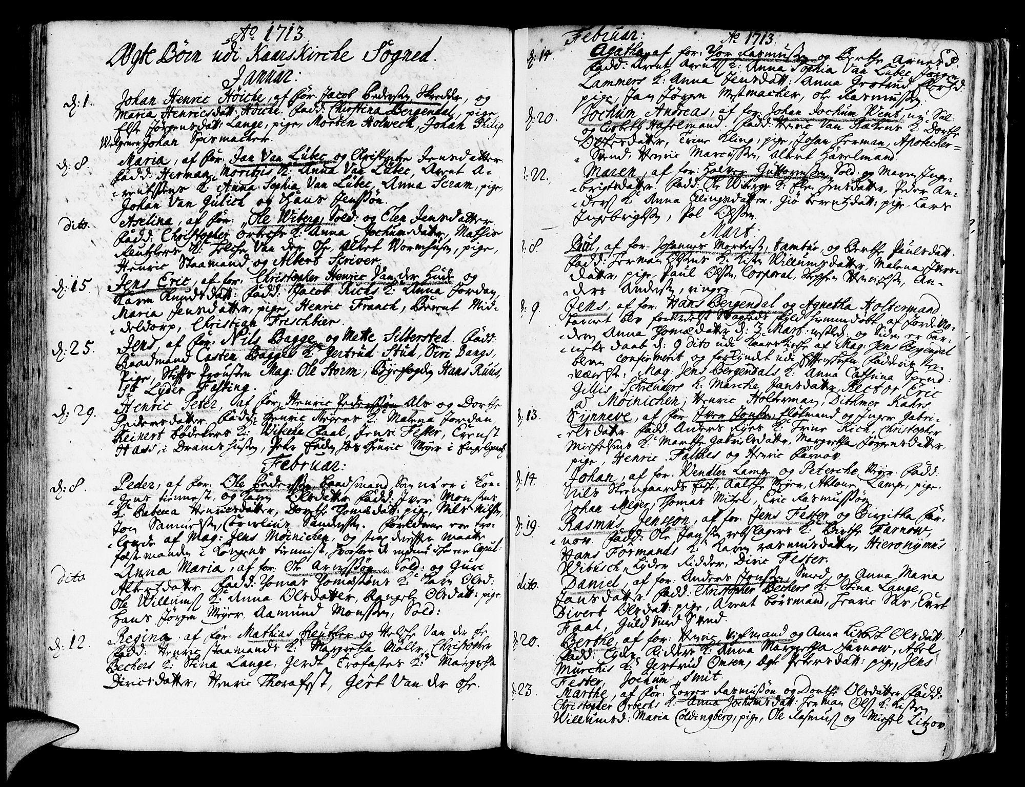 SAB, Korskirken Sokneprestembete, H/Haa/L0003: Ministerialbok nr. A 3, 1698-1719, s. 228