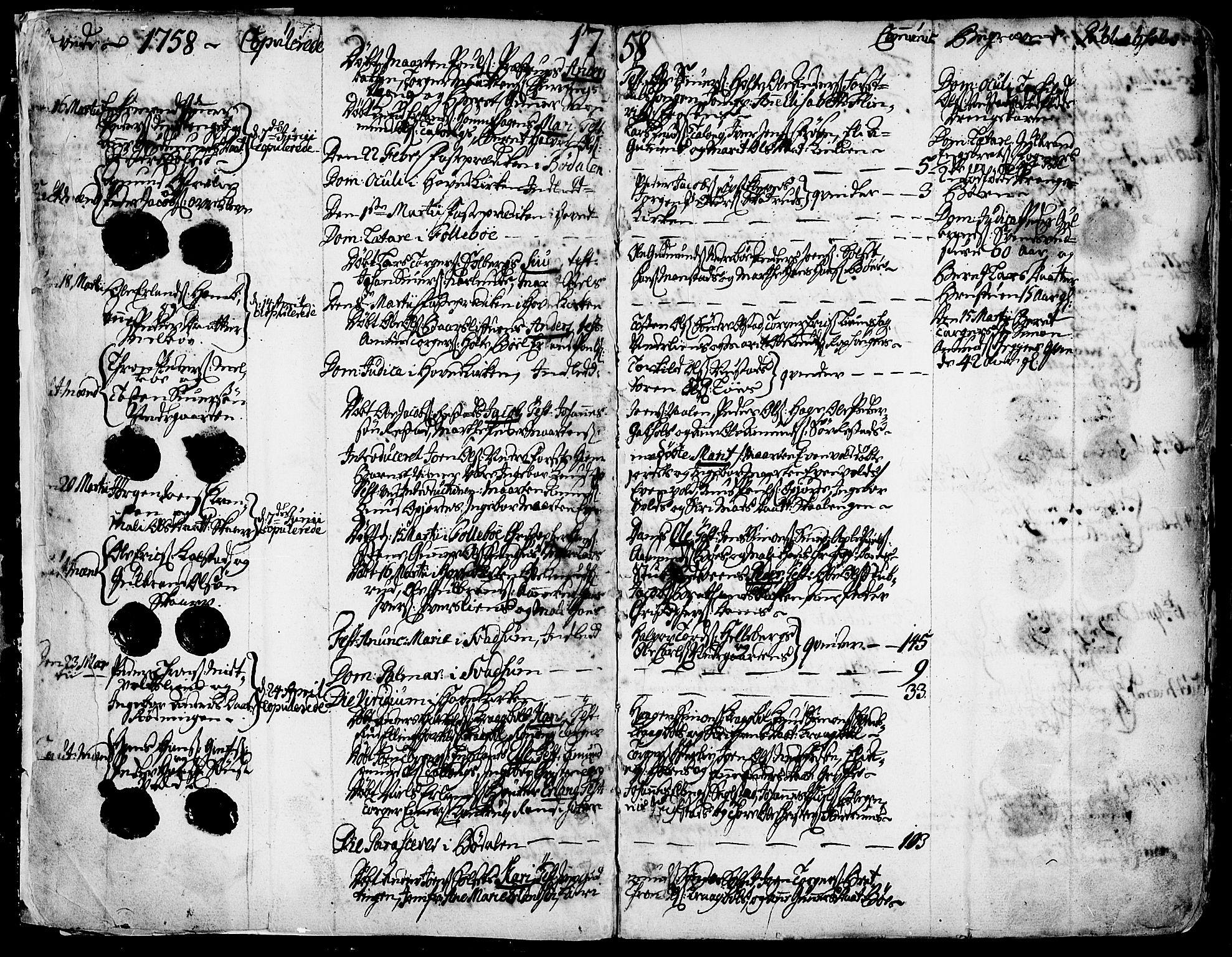 SAH, Gausdal prestekontor, Ministerialbok nr. 3, 1758-1809, s. 3