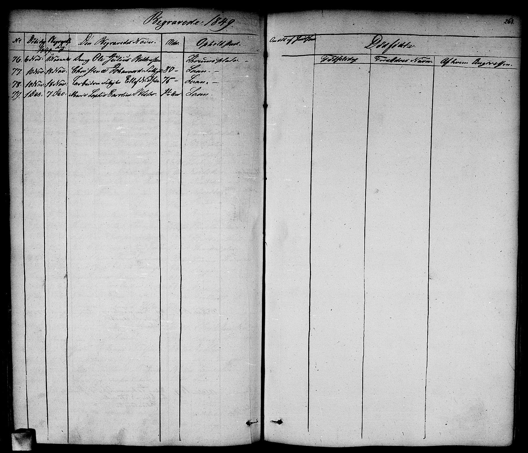 SAO, Vestby prestekontor Kirkebøker, F/Fa/L0006: Ministerialbok nr. I 6, 1827-1849, s. 268