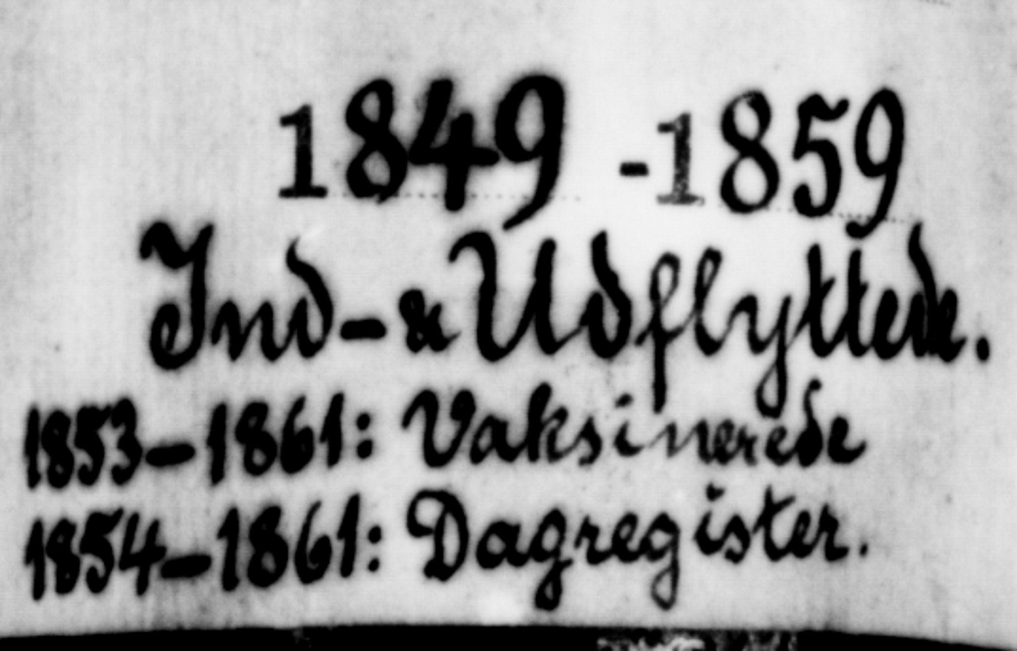 SAT, Ministerialprotokoller, klokkerbøker og fødselsregistre - Sør-Trøndelag, 602/L0113: Ministerialbok nr. 602A11, 1849-1861