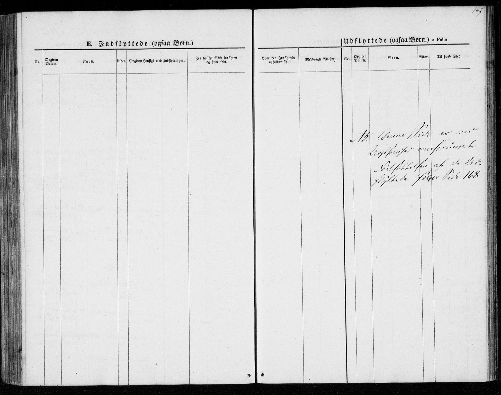SAK, Lyngdal sokneprestkontor, F/Fa/Faa/L0002: Ministerialbok nr. A 2, 1858-1870, s. 167