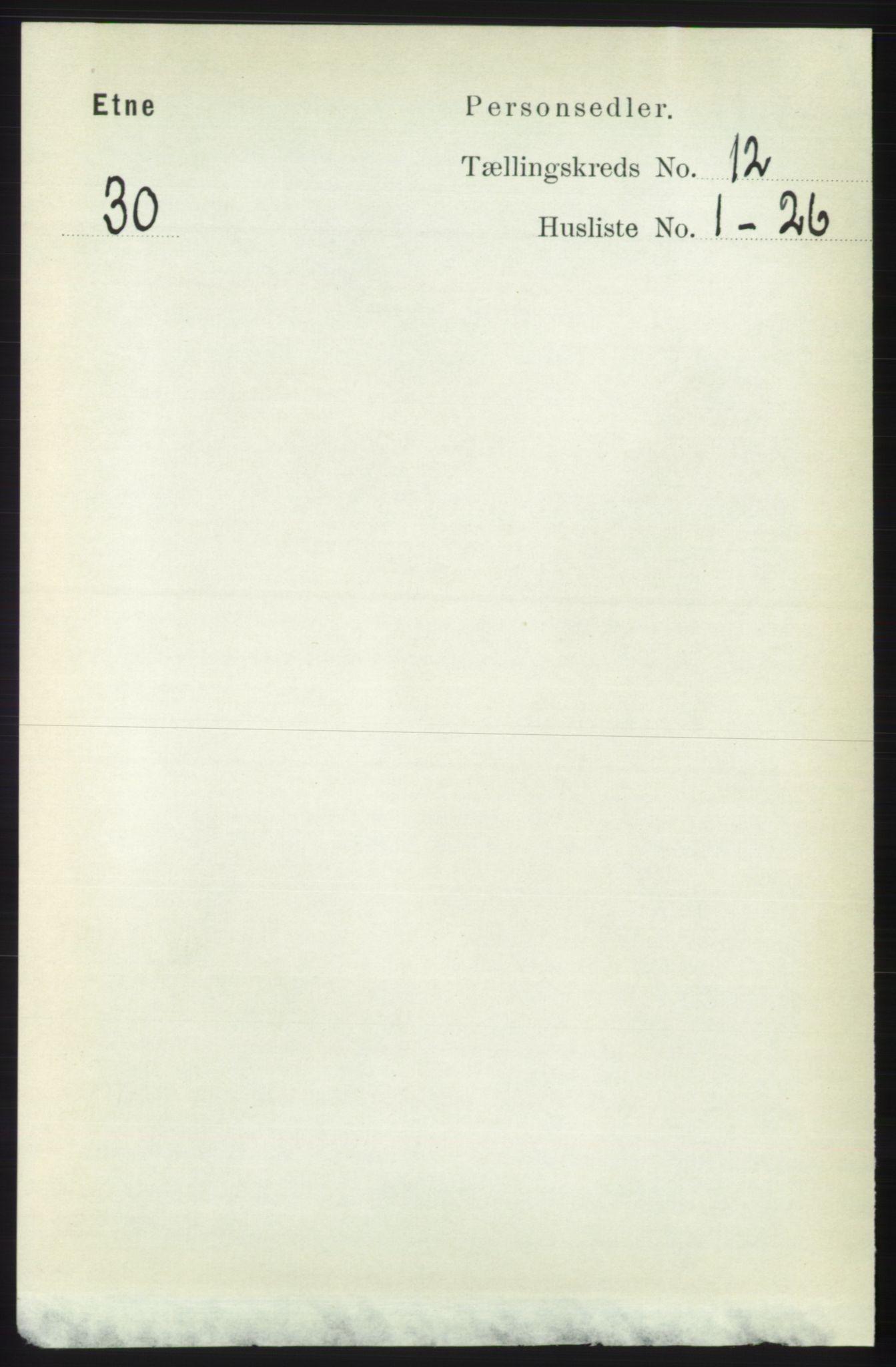 RA, Folketelling 1891 for 1211 Etne herred, 1891, s. 2554