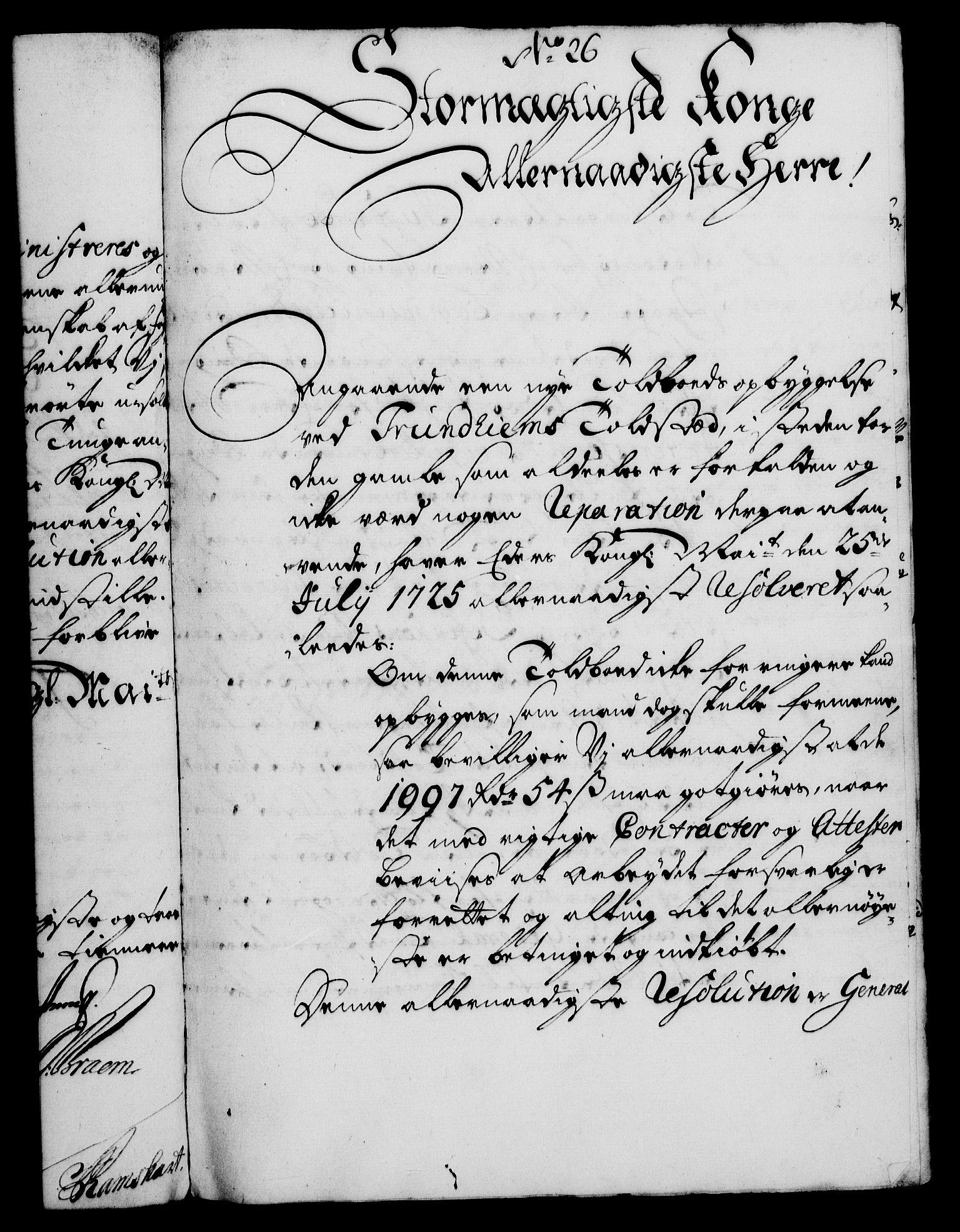 RA, Rentekammeret, Kammerkanselliet, G/Gf/Gfa/L0010: Norsk relasjons- og resolusjonsprotokoll (merket RK 52.10), 1727, s. 226