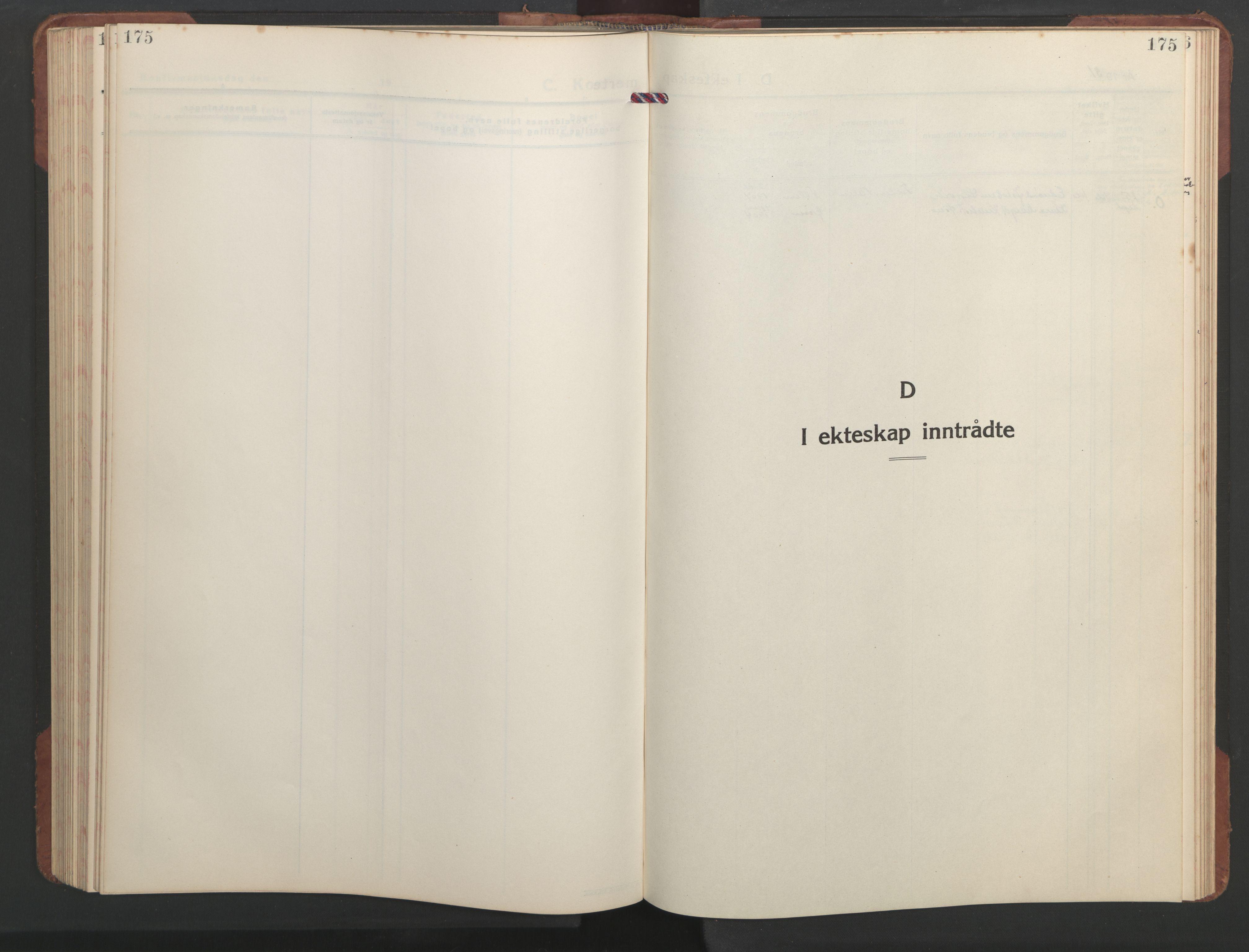 SAT, Ministerialprotokoller, klokkerbøker og fødselsregistre - Sør-Trøndelag, 637/L0564: Klokkerbok nr. 637C05, 1928-1968, s. 175