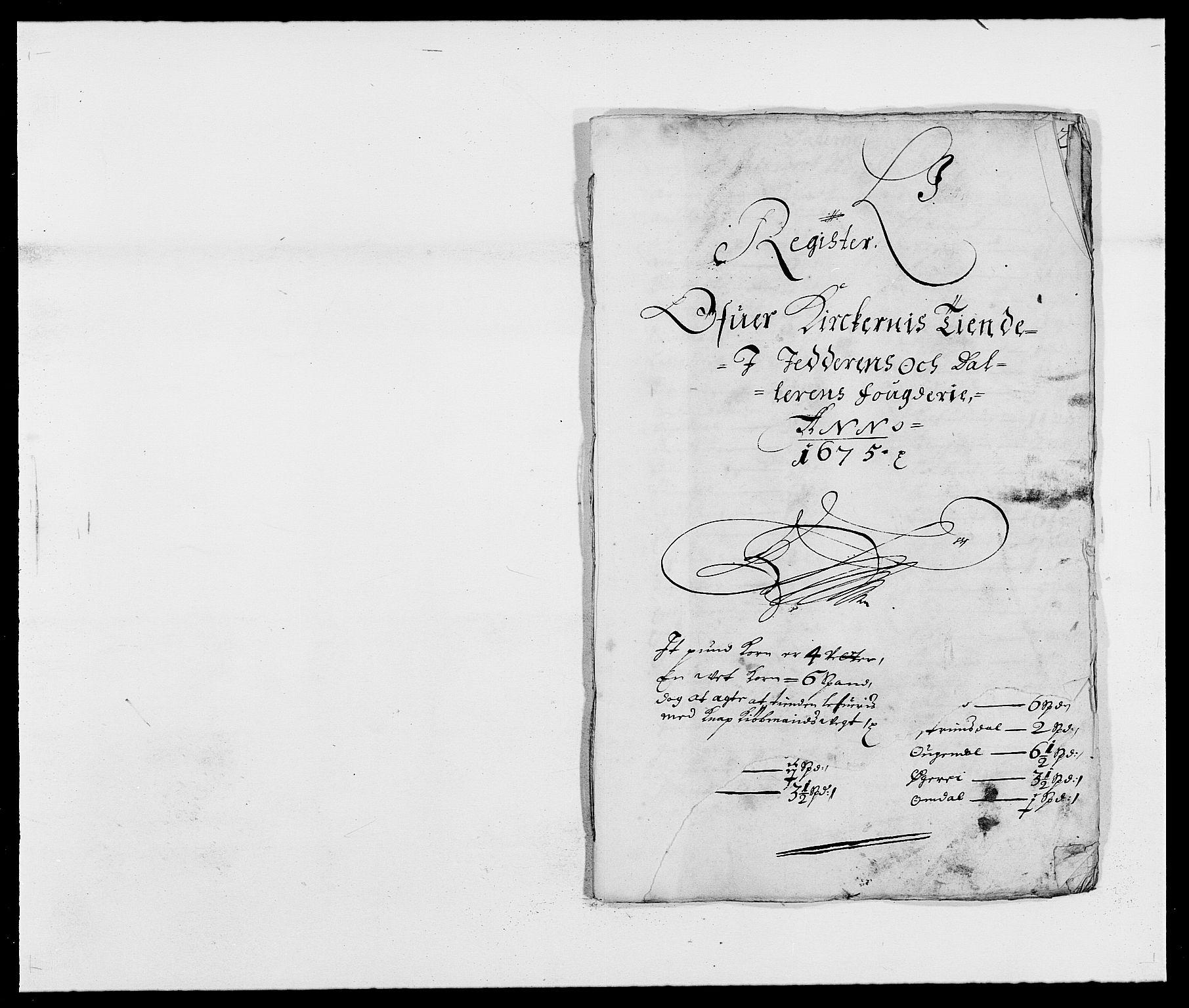 RA, Rentekammeret inntil 1814, Reviderte regnskaper, Fogderegnskap, R46/L2715: Fogderegnskap Jæren og Dalane, 1675, s. 259