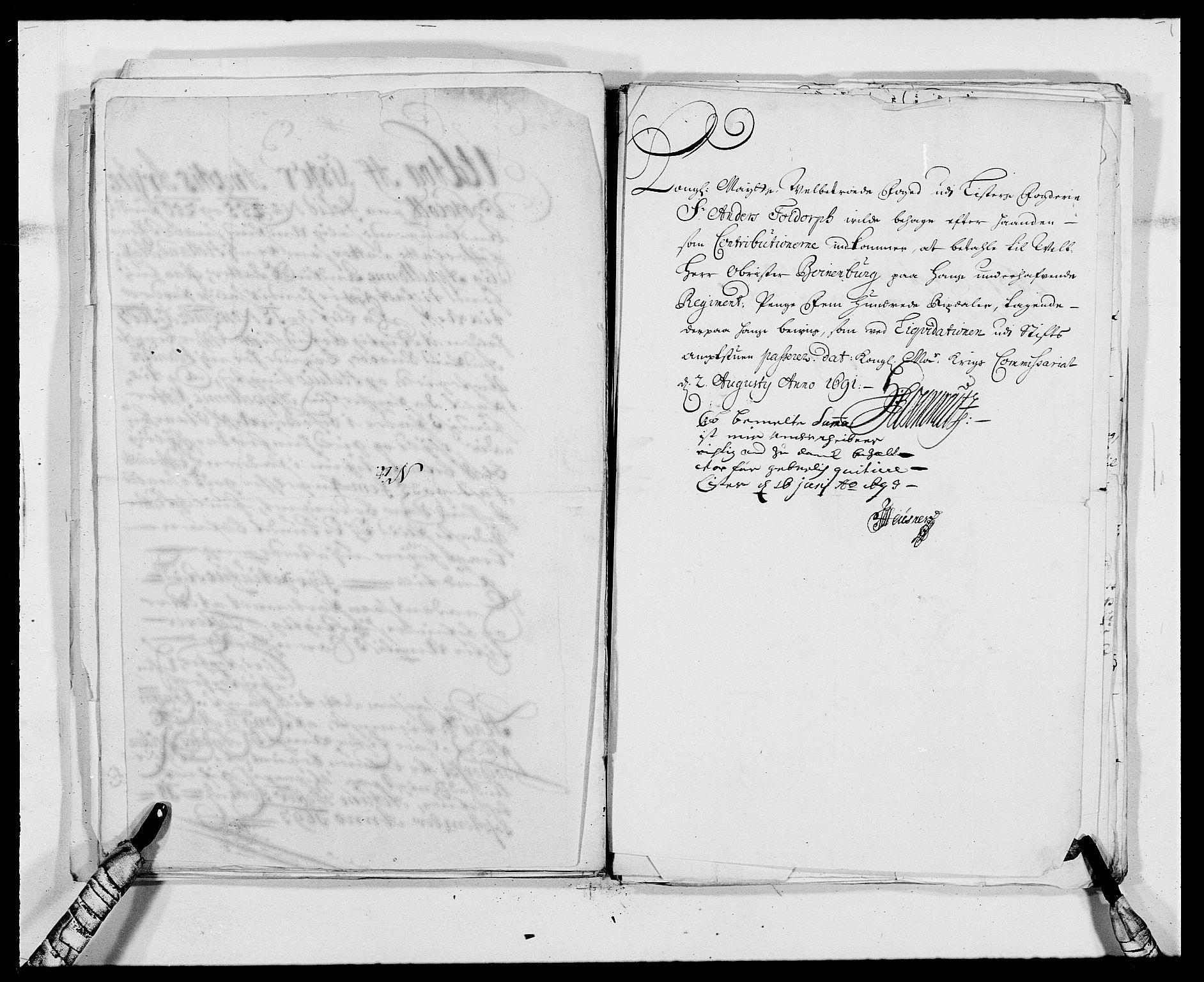RA, Rentekammeret inntil 1814, Reviderte regnskaper, Fogderegnskap, R41/L2536: Fogderegnskap Lista, 1690-1693, s. 231