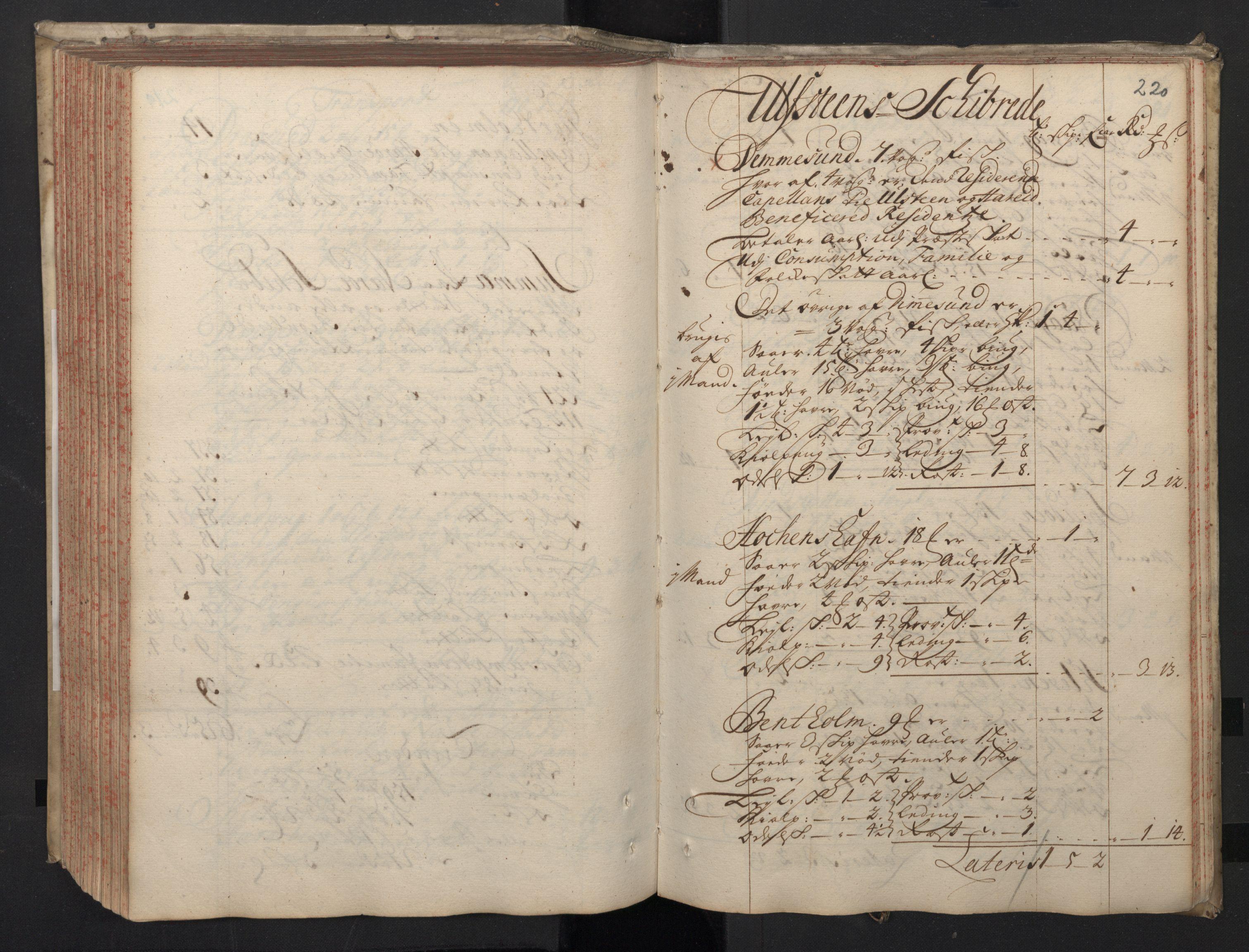 RA, Rentekammeret inntil 1814, Realistisk ordnet avdeling, N/Nb/Nbf/L0148: Sunnmøre, prøvematrikkel, 1714, s. 219b-220a